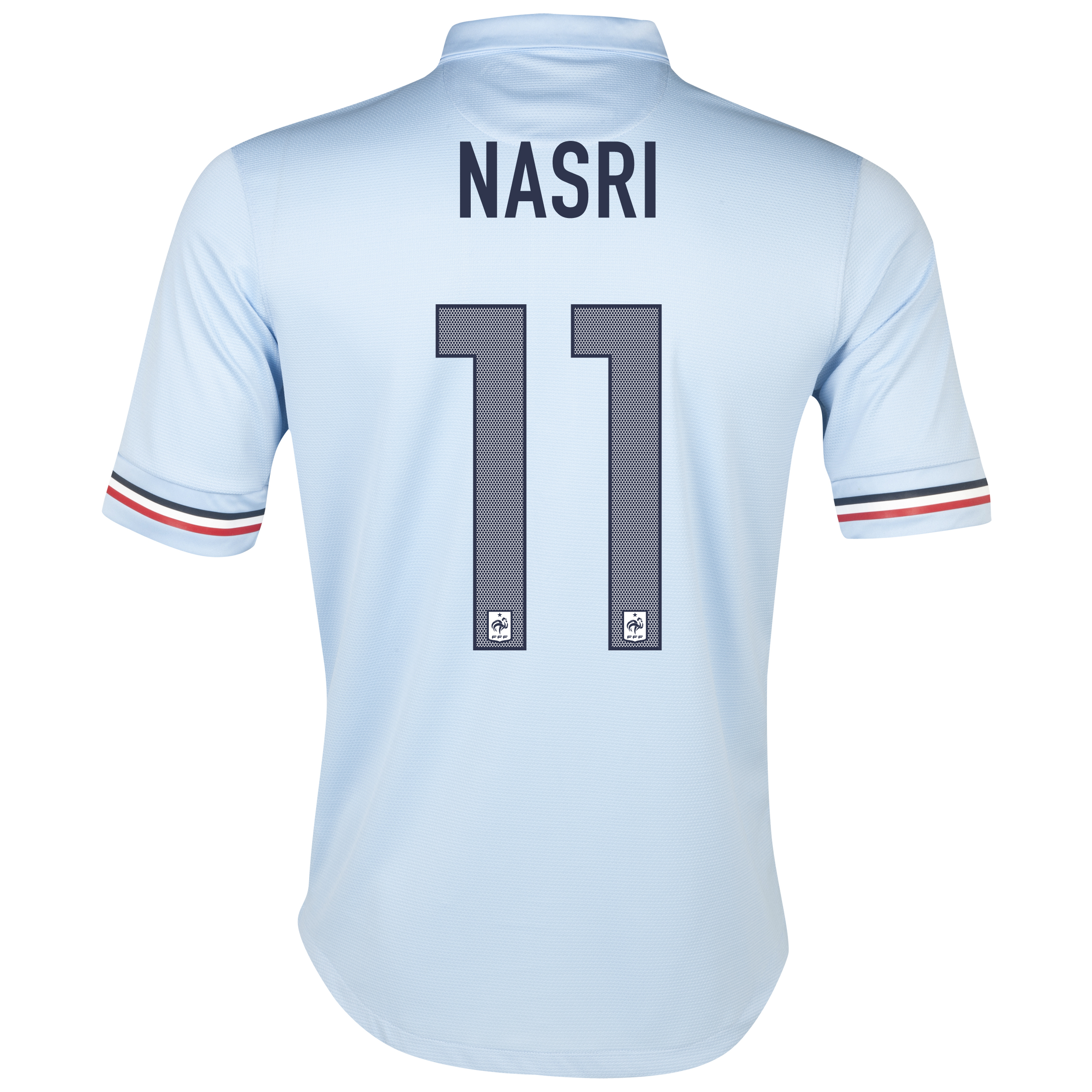 France Away Shirt 2013/14 - Kids with Nasri 11 printing