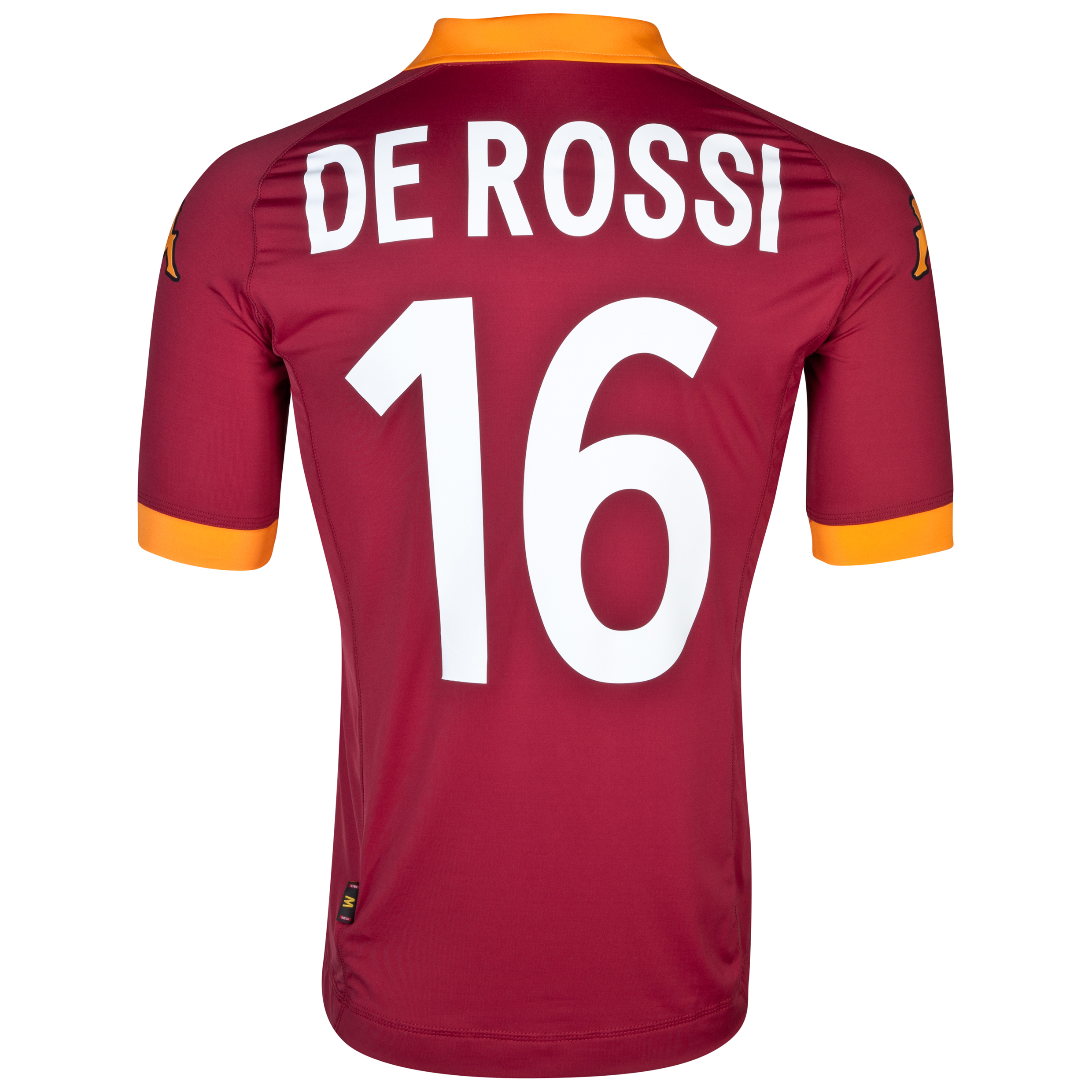 AS Roma Home Shirt 2012/13 with De Rossi 16 printing