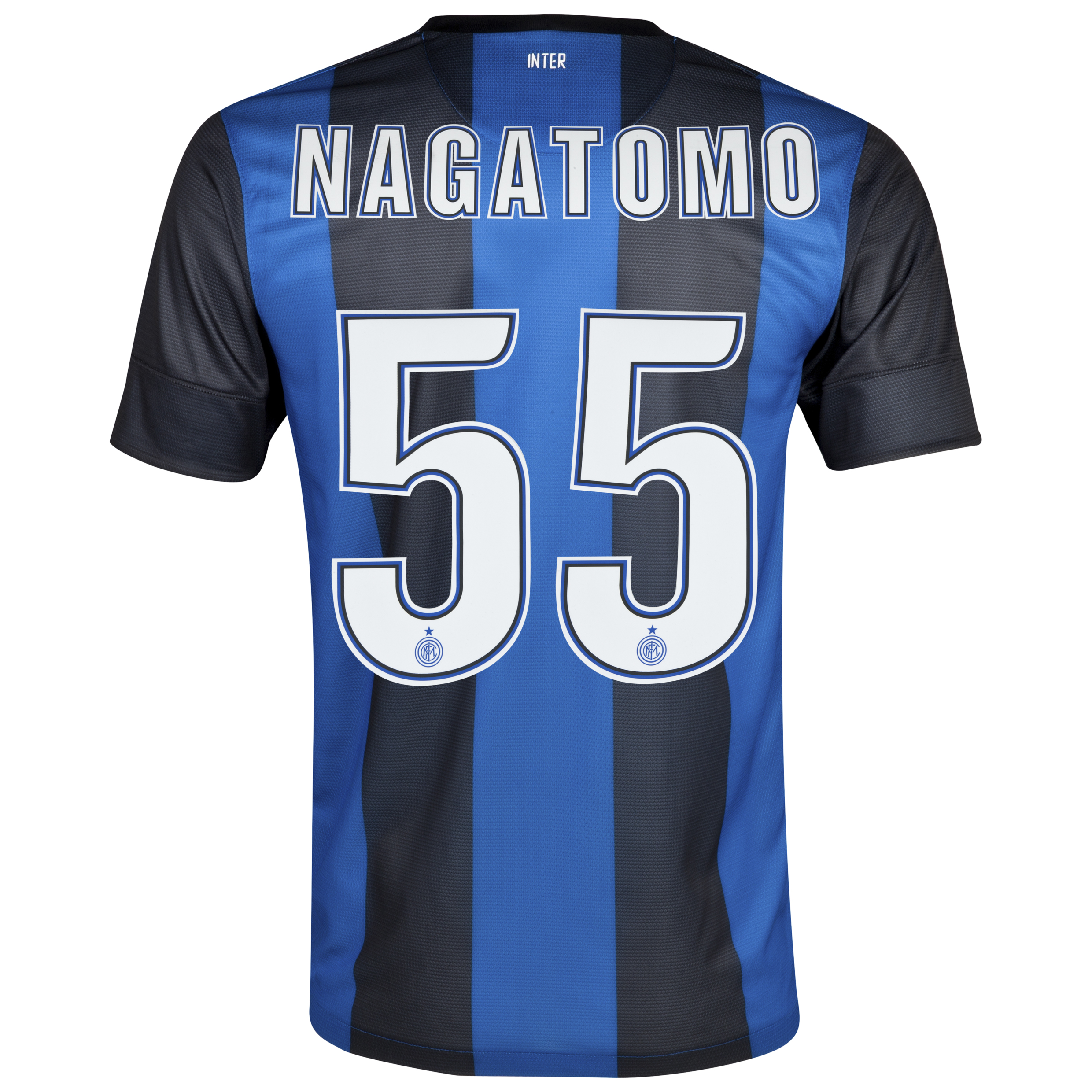 Inter Milan Home Shirt 2012/13 with Nagatomo 55 printing