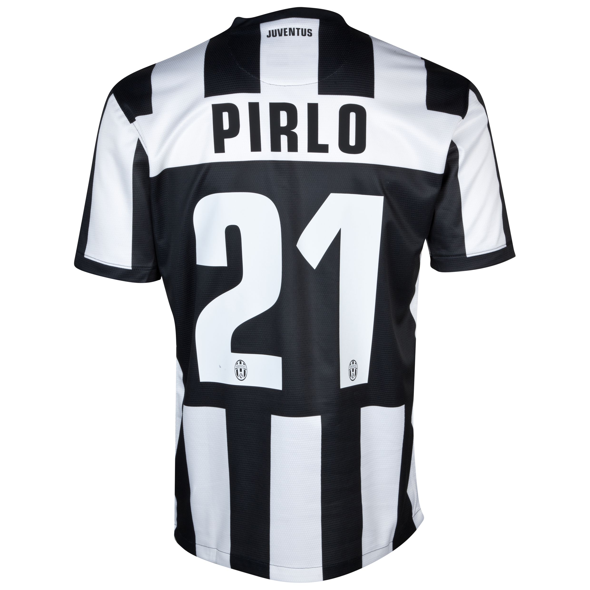 Juventus Home Shirt 2012/13 with Pirlo 21 printing