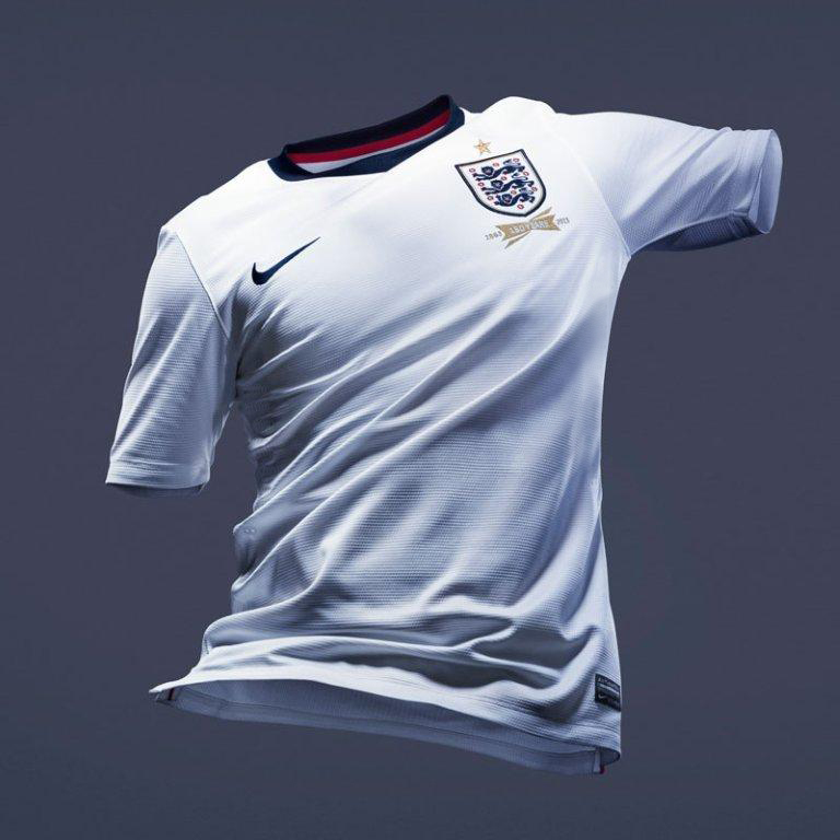 England Home Shirt 2013/14 - Youth White