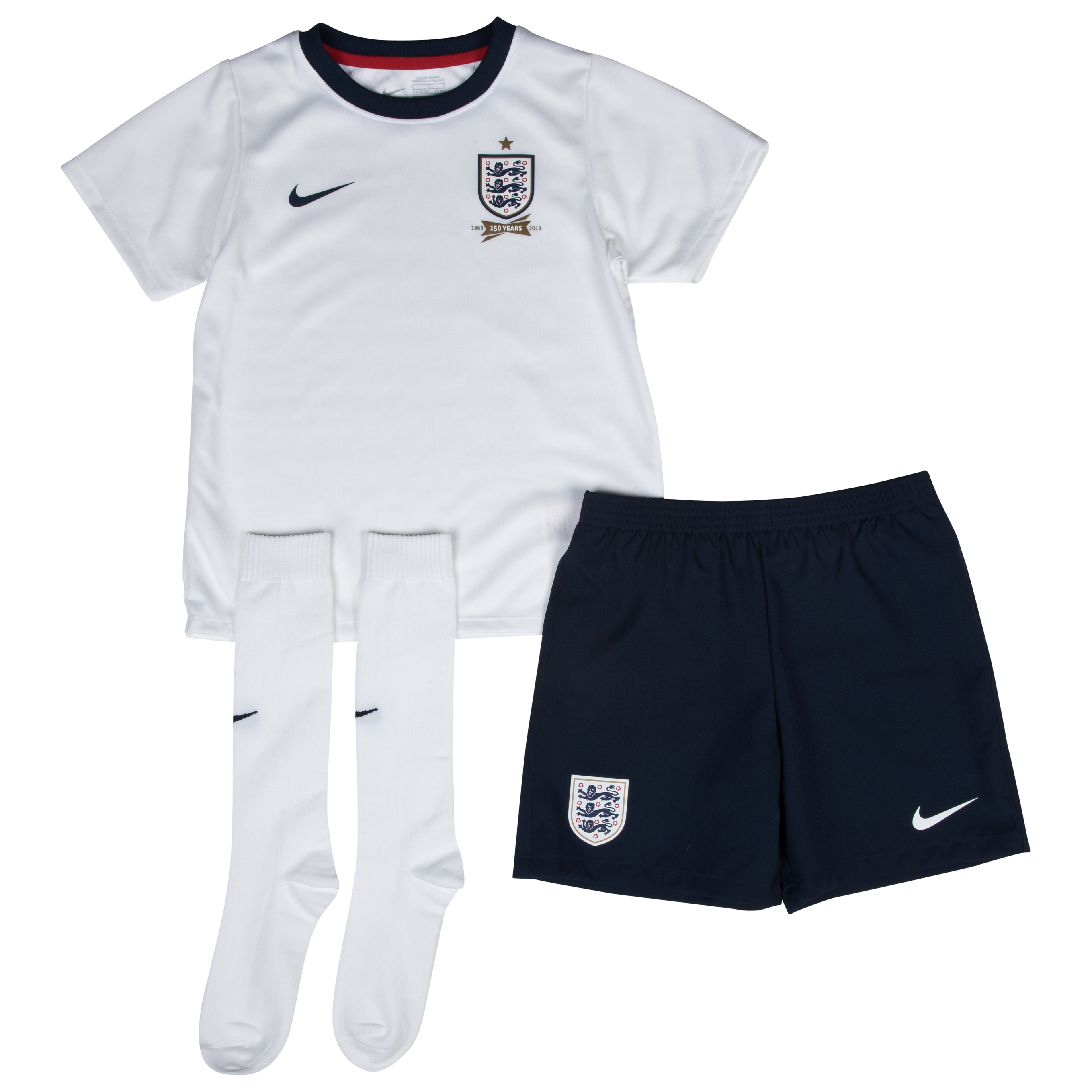 England Home Kit 2013/14 Little Boys White