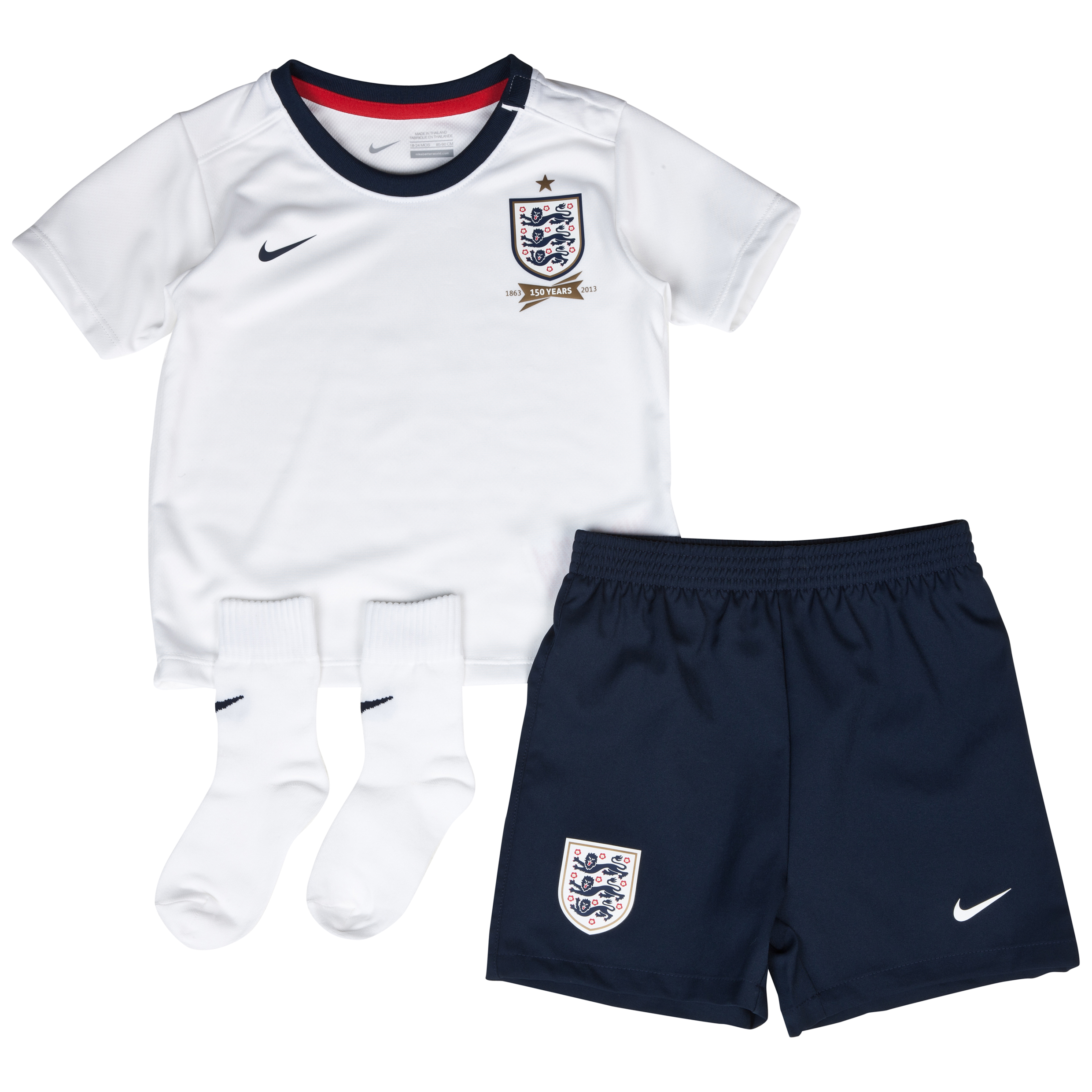 England Home KIT 2013/14 - Infants White