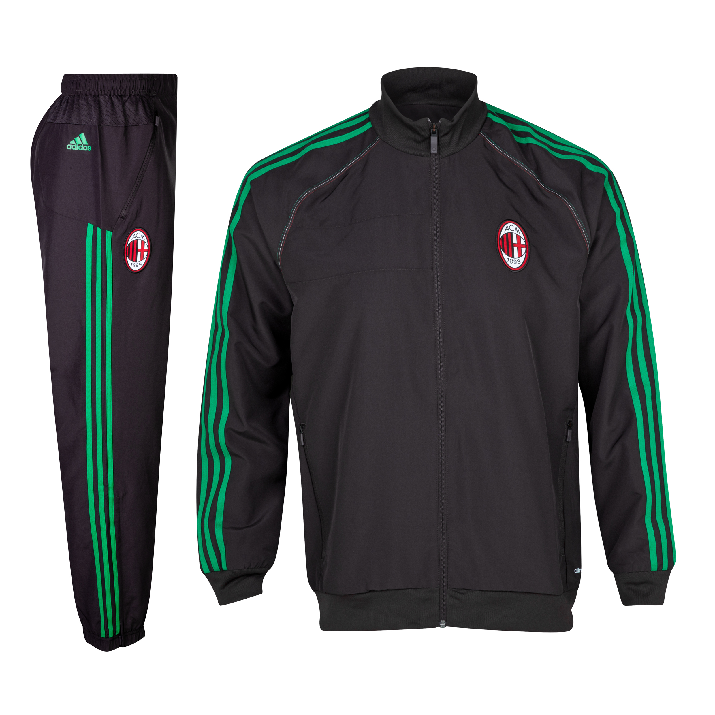 AC Milan UCL Training Presentations Suit Red