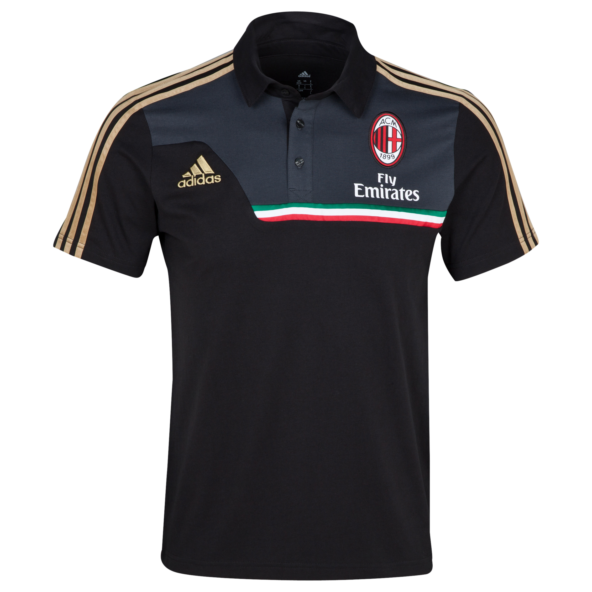 AC Milan Training Polo Black