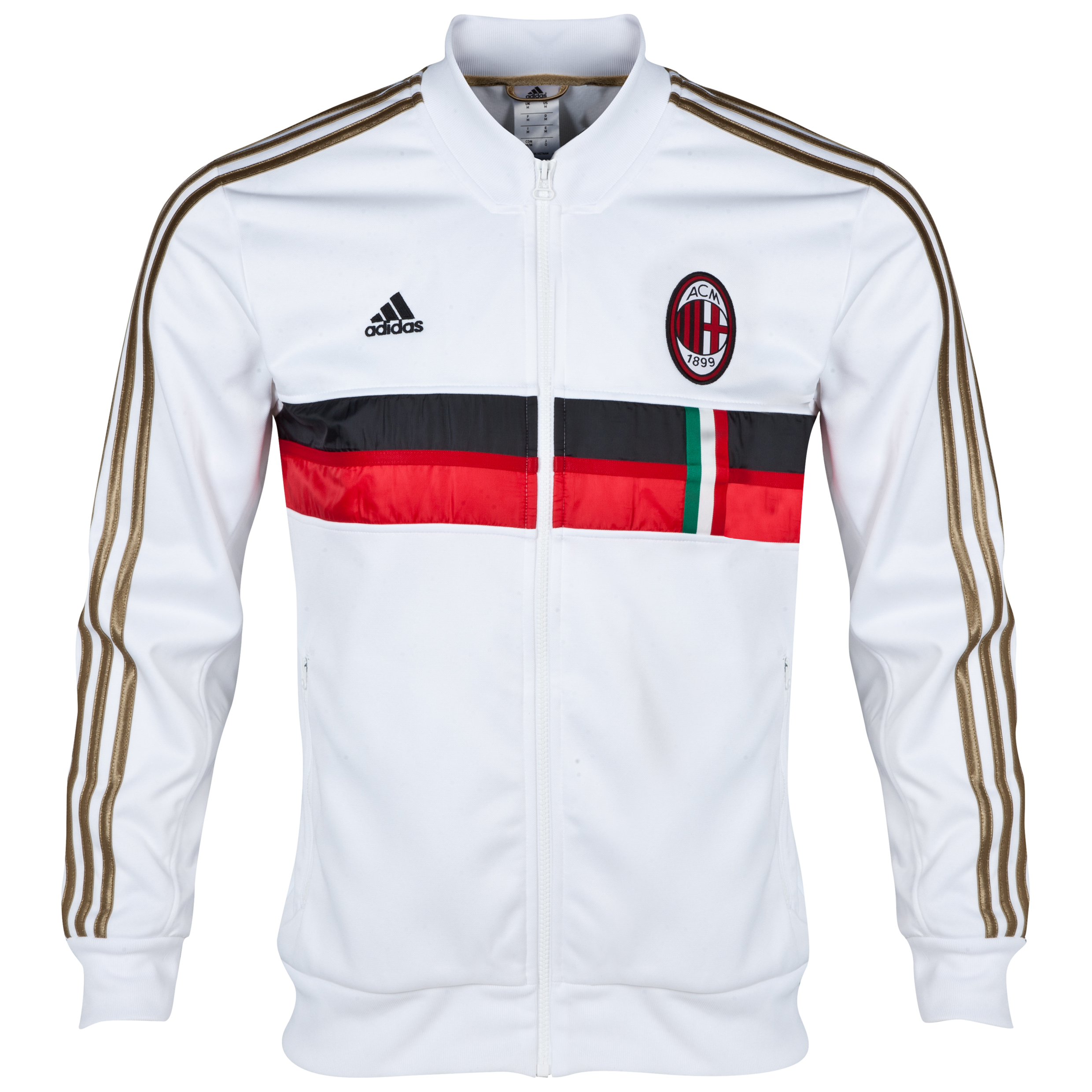 AC Milan Anthem Jacket White