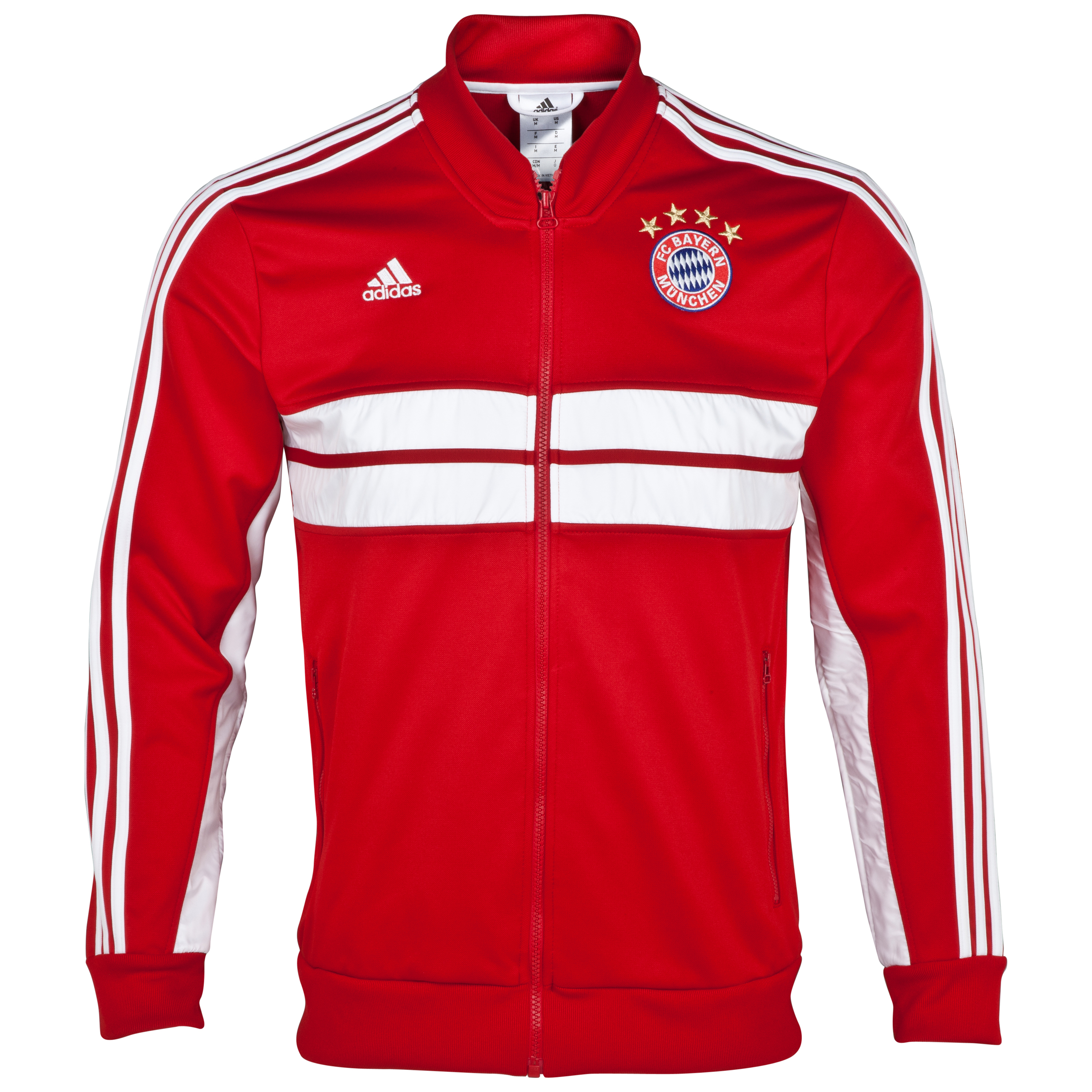 Bayern Munich Bayern Munich Anthem Jacket Red