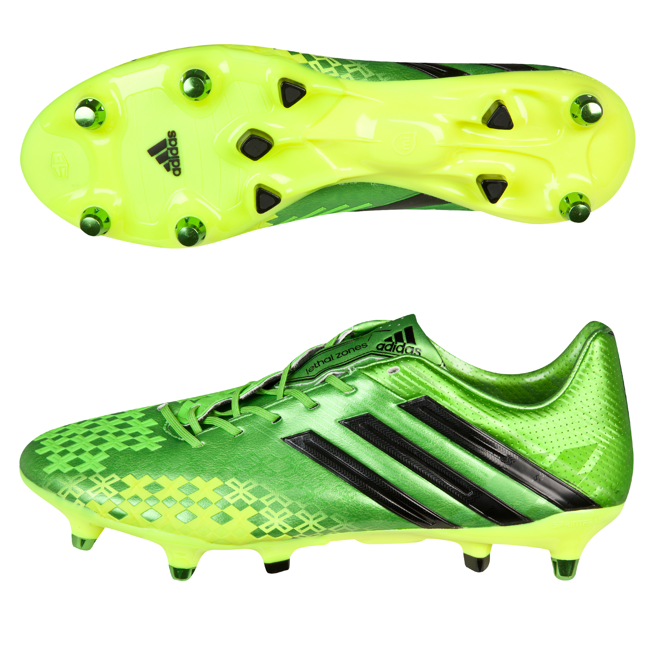 Adidas Predator LZ XTRX Soft Ground Football Boots Green