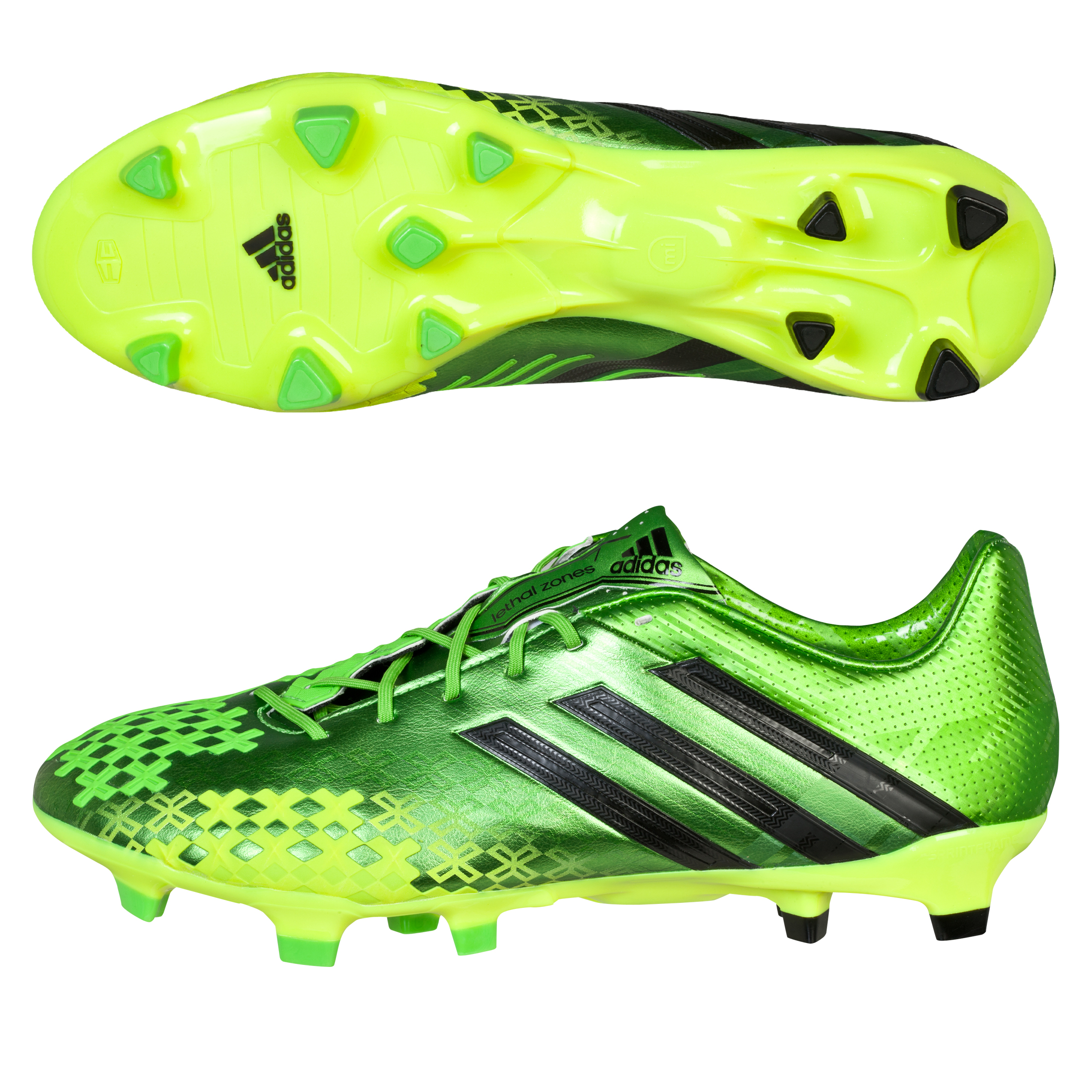 Adidas Predator LZ TRX Firm Ground Football Boots Green