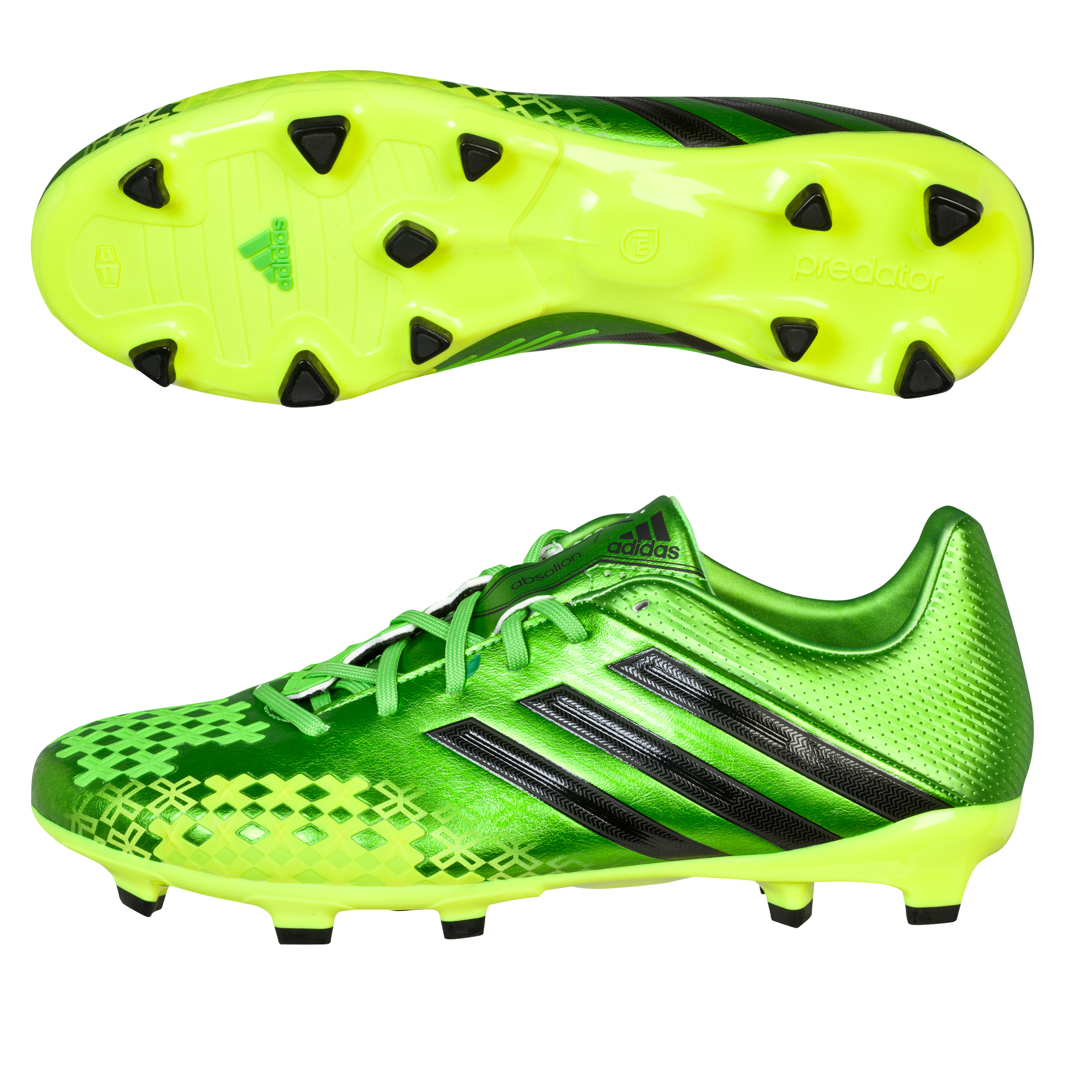Adidas Predator Absolion LZ TRX Firm Ground Football Boots Green