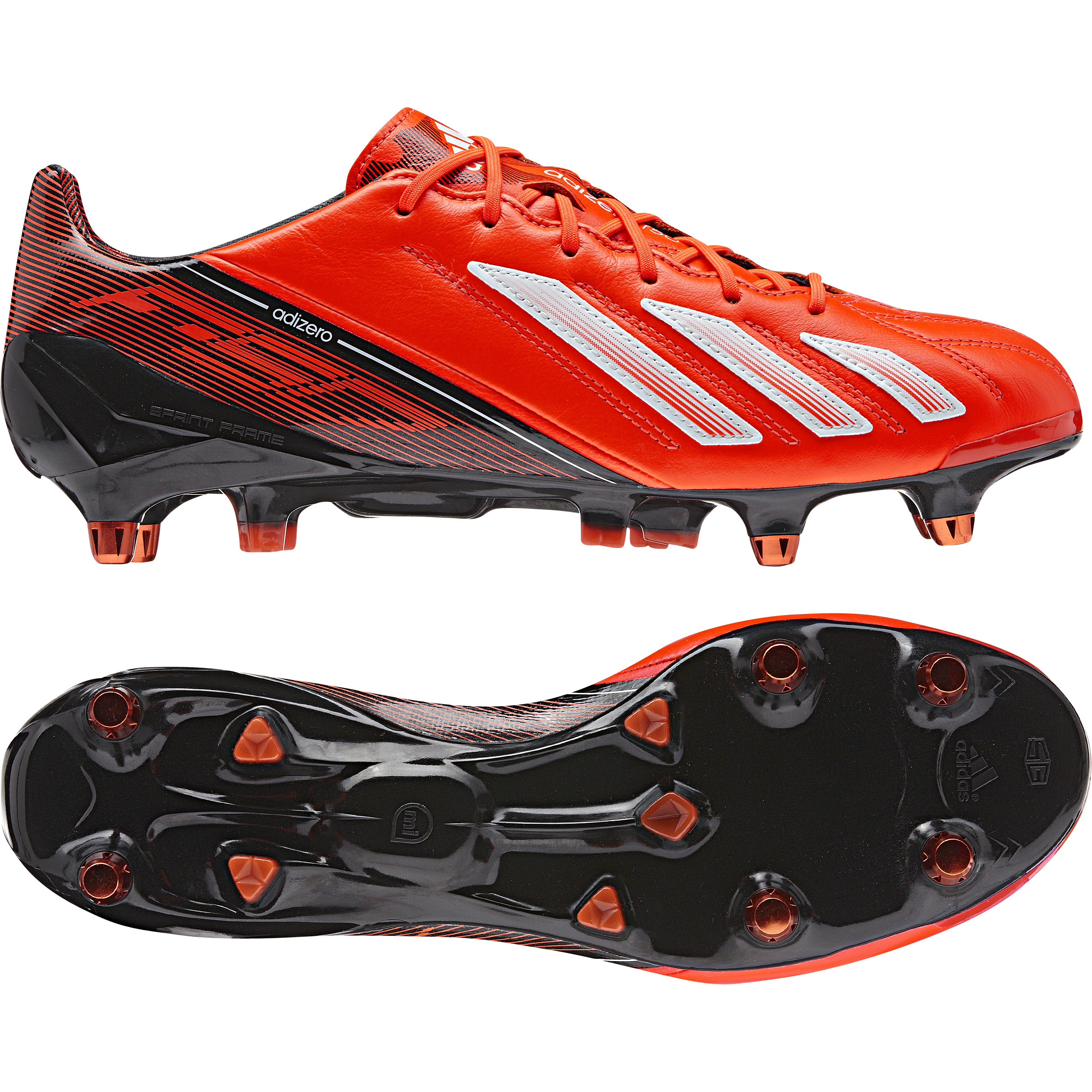 Adidas adizero F50 XTRX Leather Soft Ground Football Boots Red