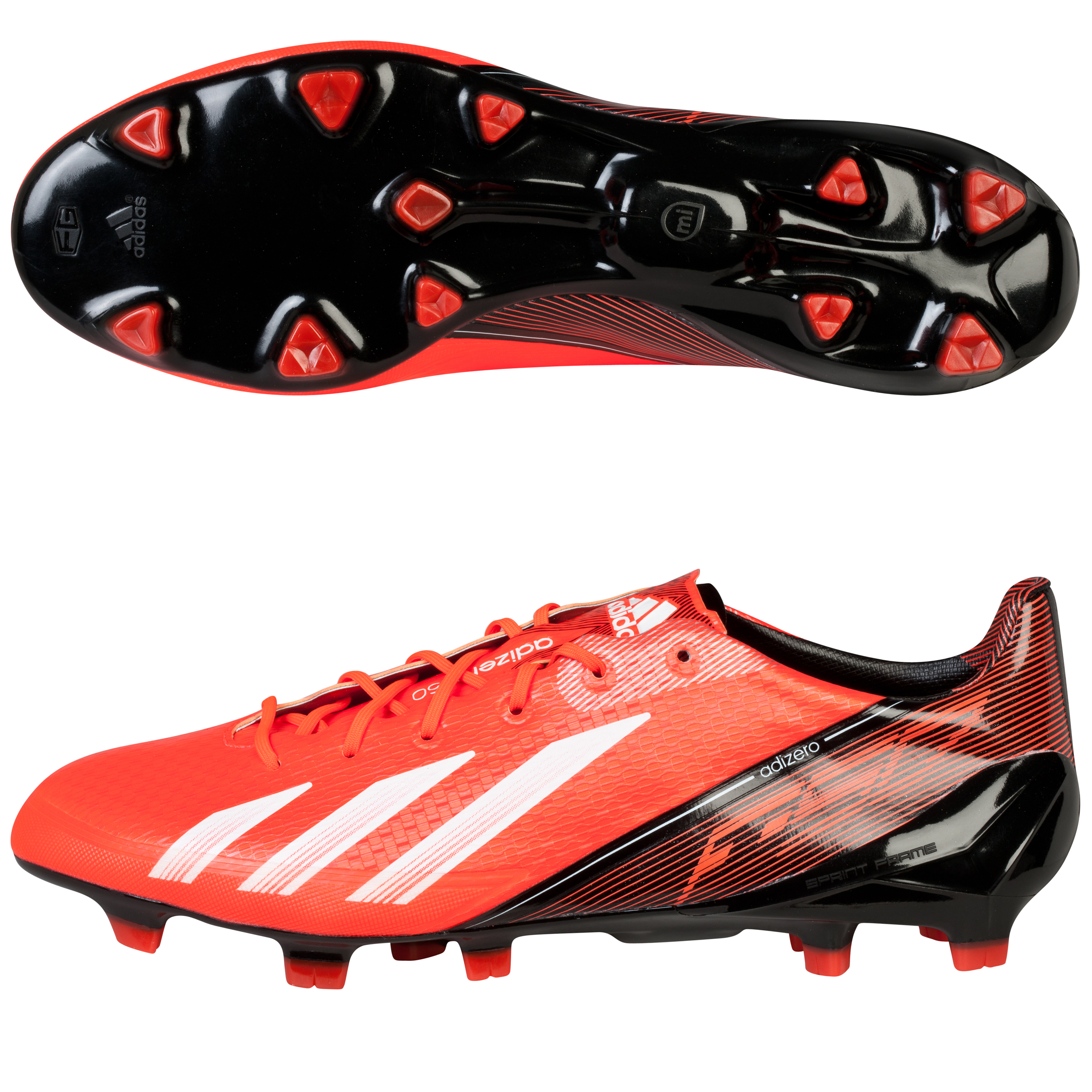 Adidas adizero F50 TRX Firm Ground Football Boots Red