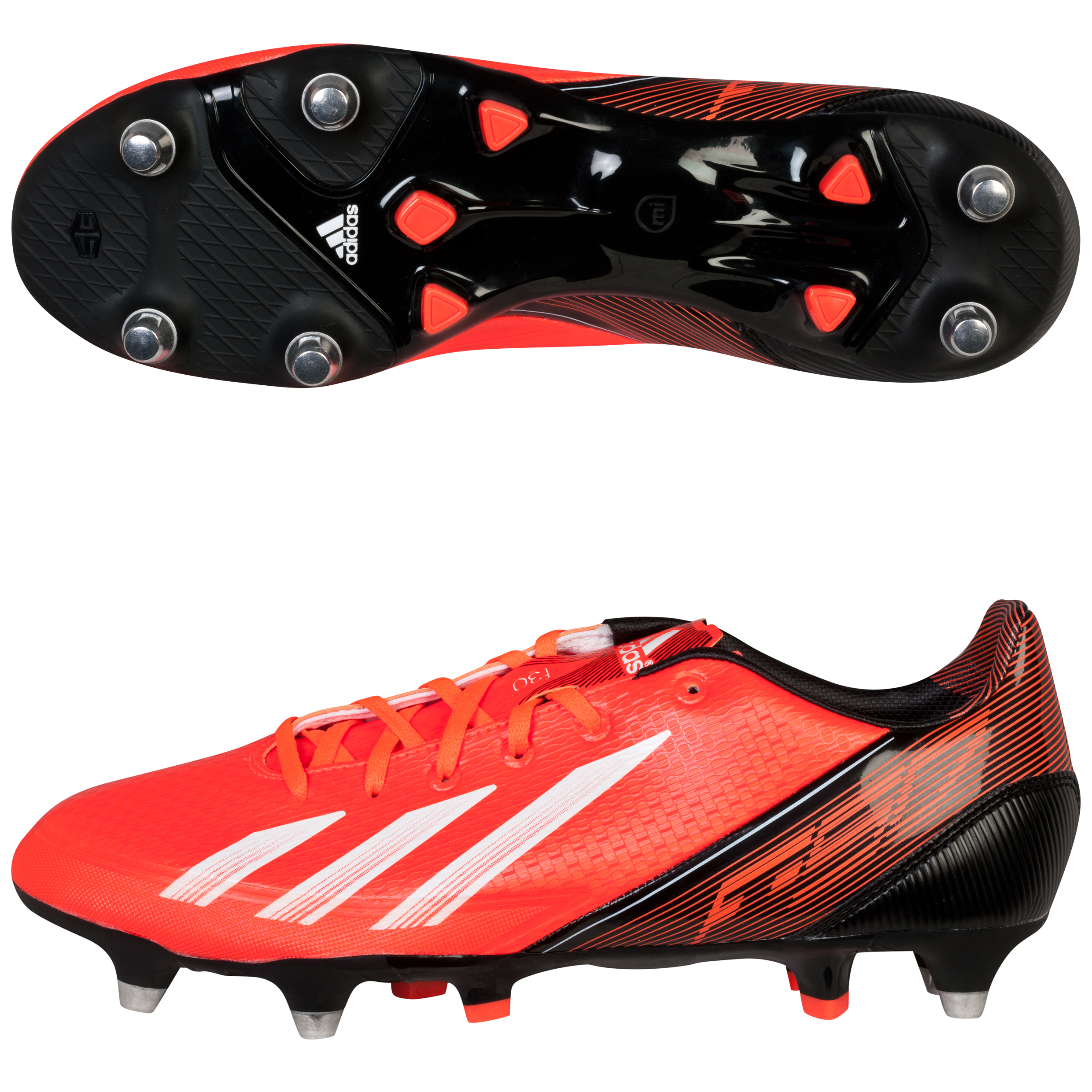 Adidas F30 TRX Soft Ground Football Boots Red