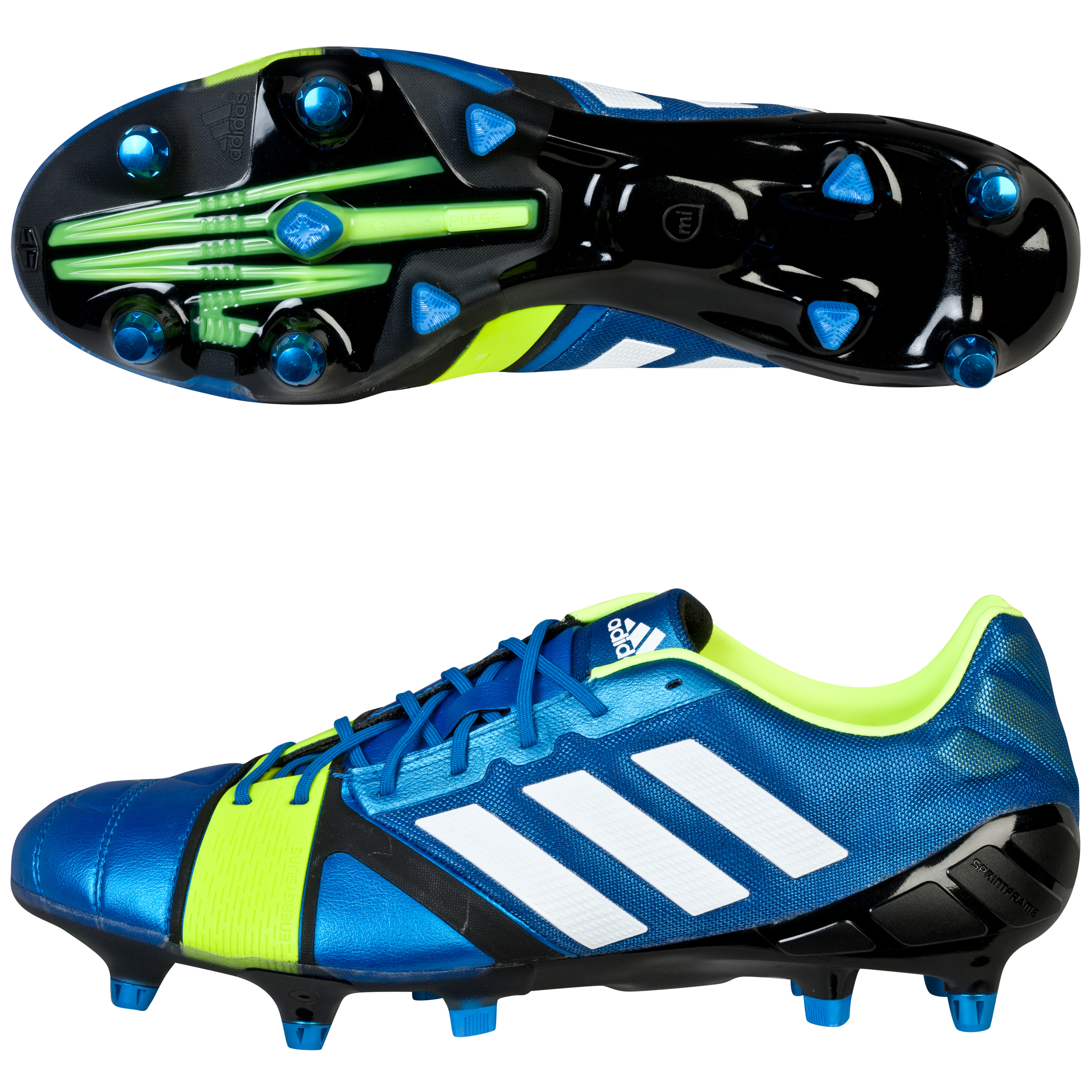 Adidas Nitrocharge 1.0 XTRX Soft Ground Football Boots Blue