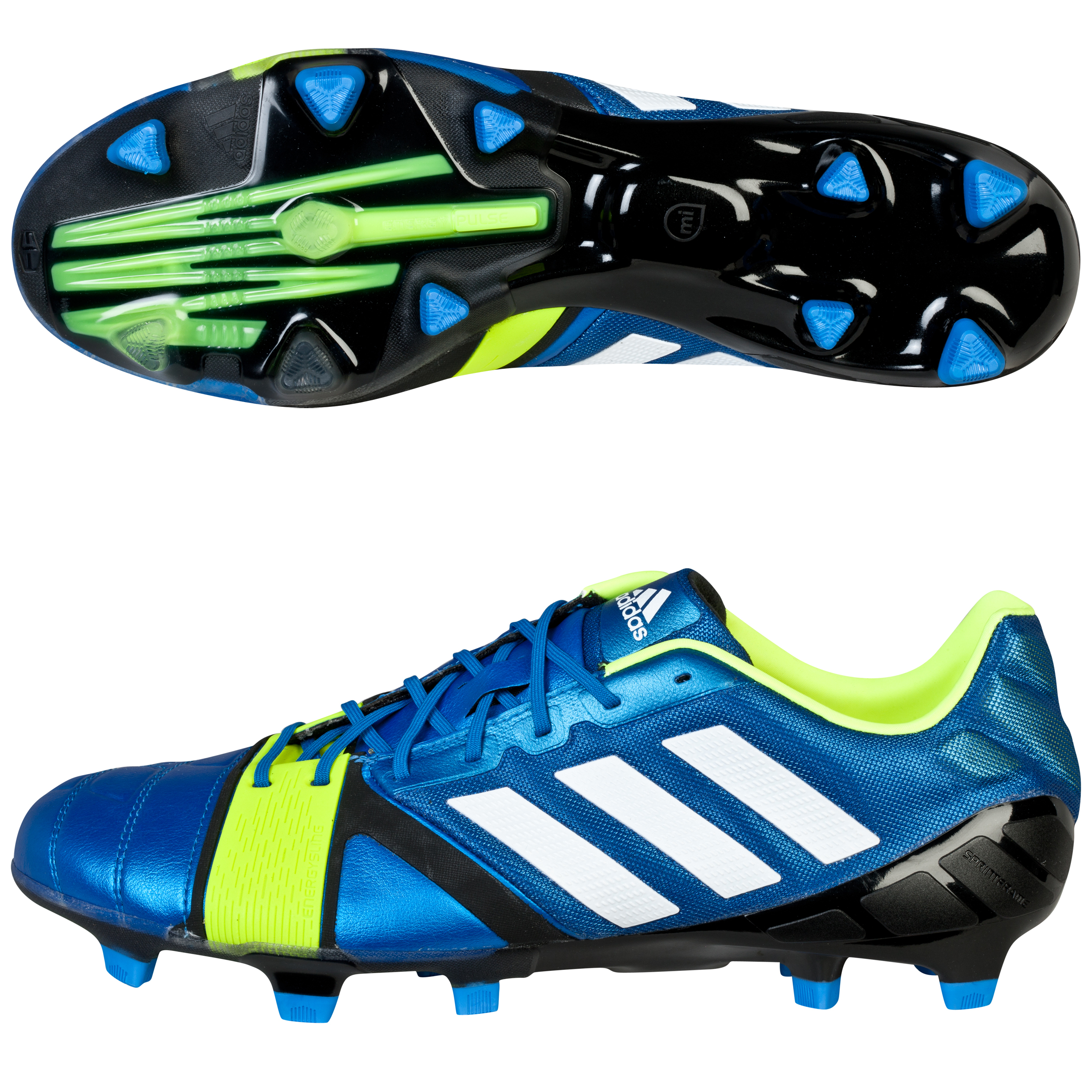 Adidas Nitrocharge 1.0 TRX Firm Ground Football Boots Blue