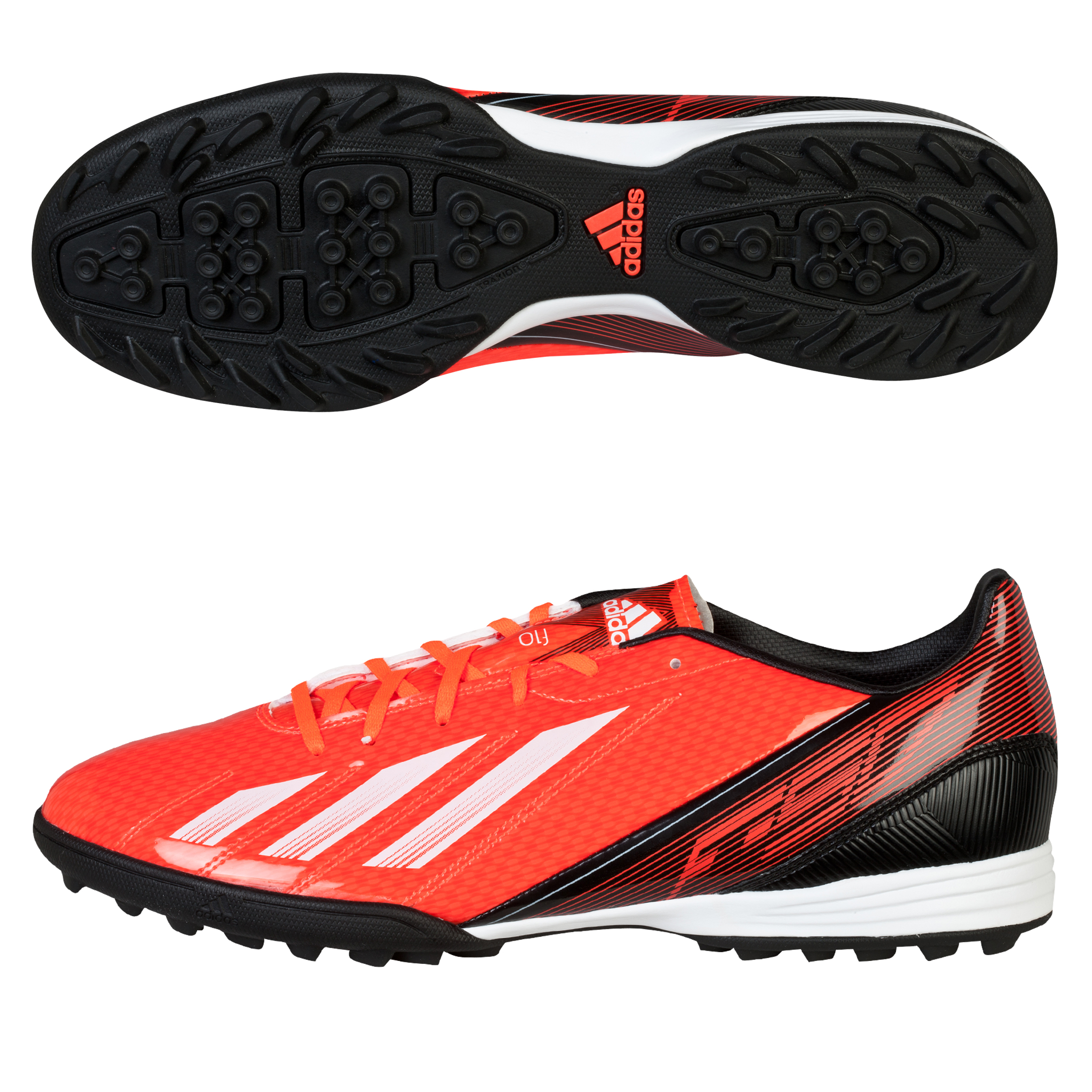 Adidas F10 TRX Astroturf Trainers Red
