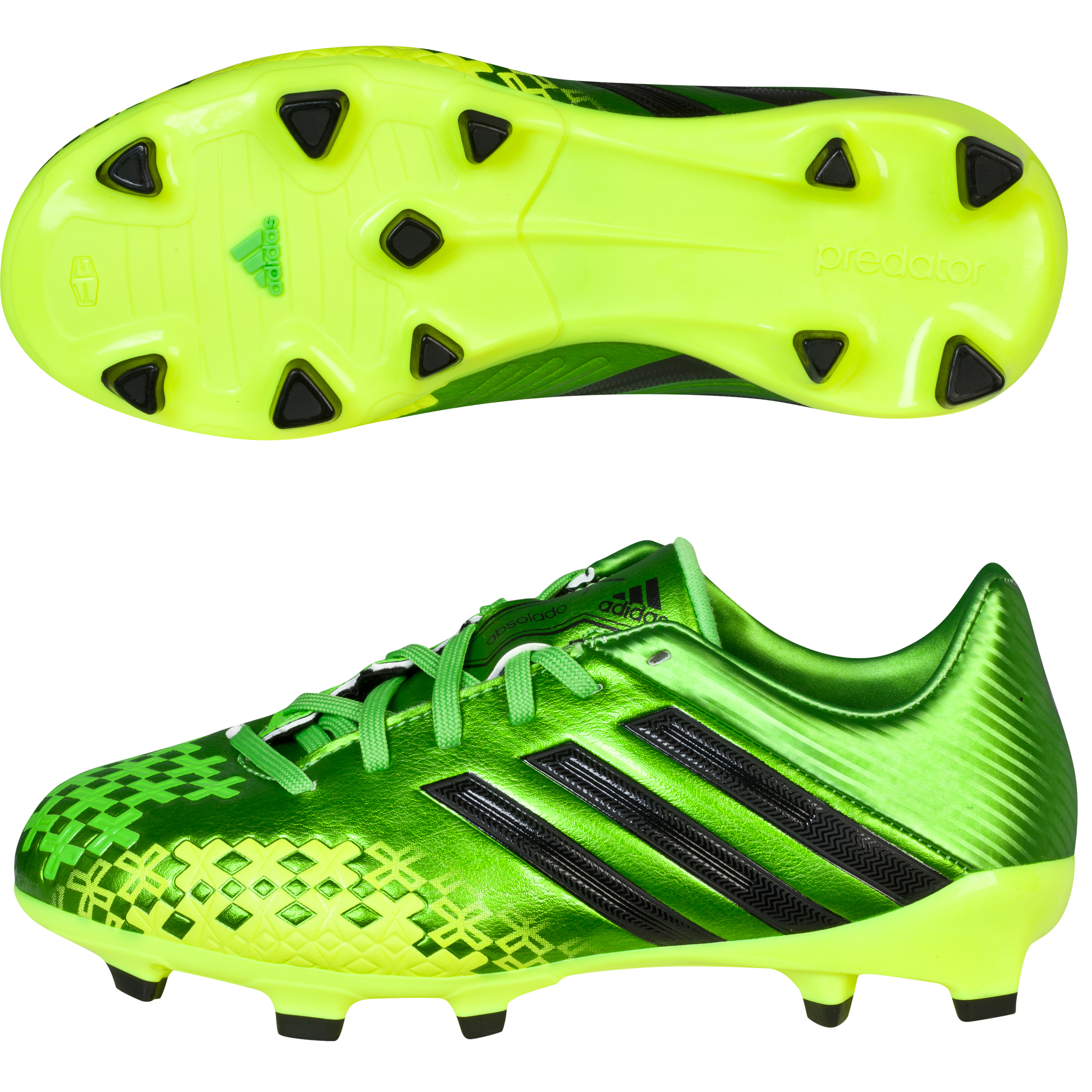 Adidas Predator Absolado LZ TRX Firm Ground Football Boots - Kids Green
