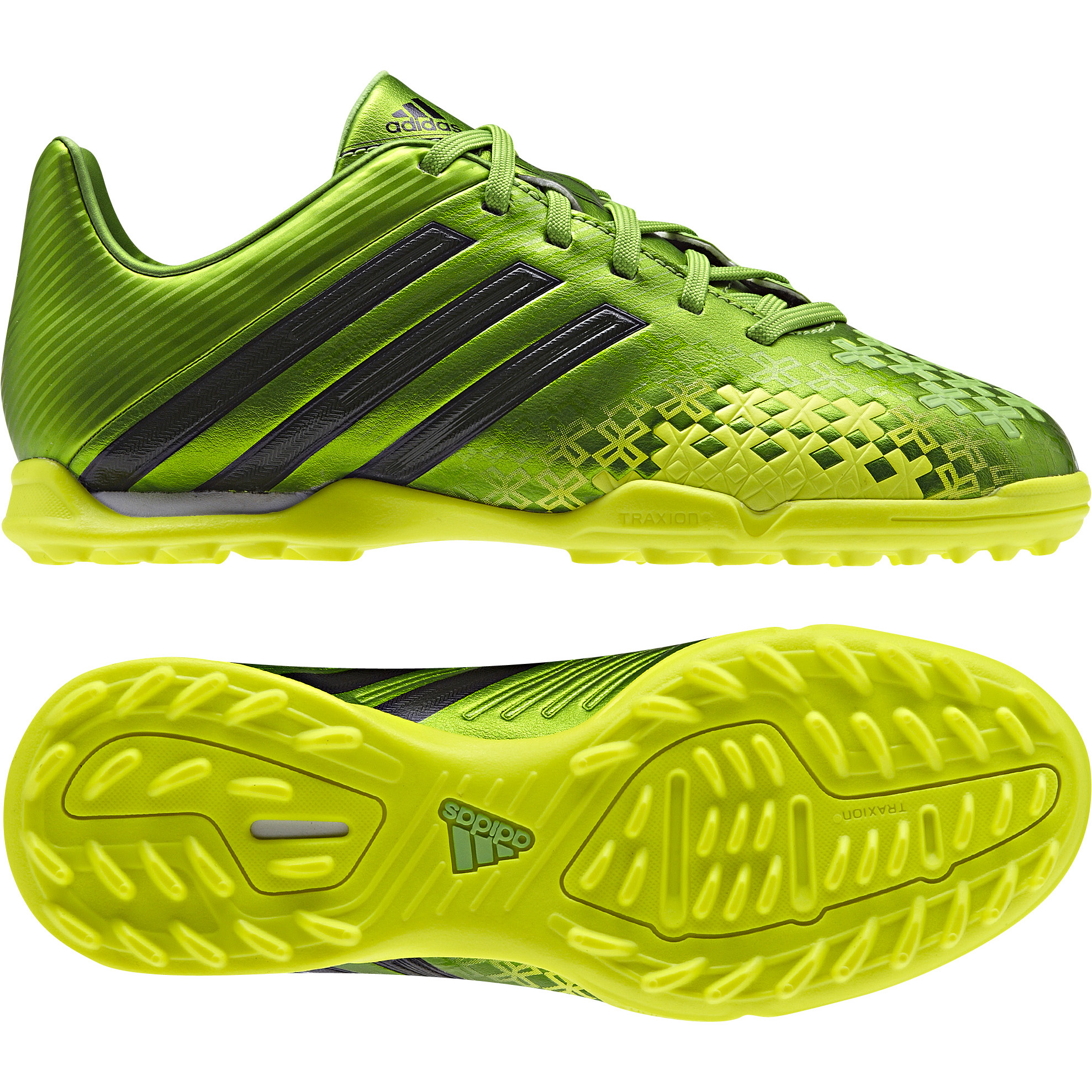 Adidas Predator Absolado LZ TRX Astroturf Trainers - Kids Green