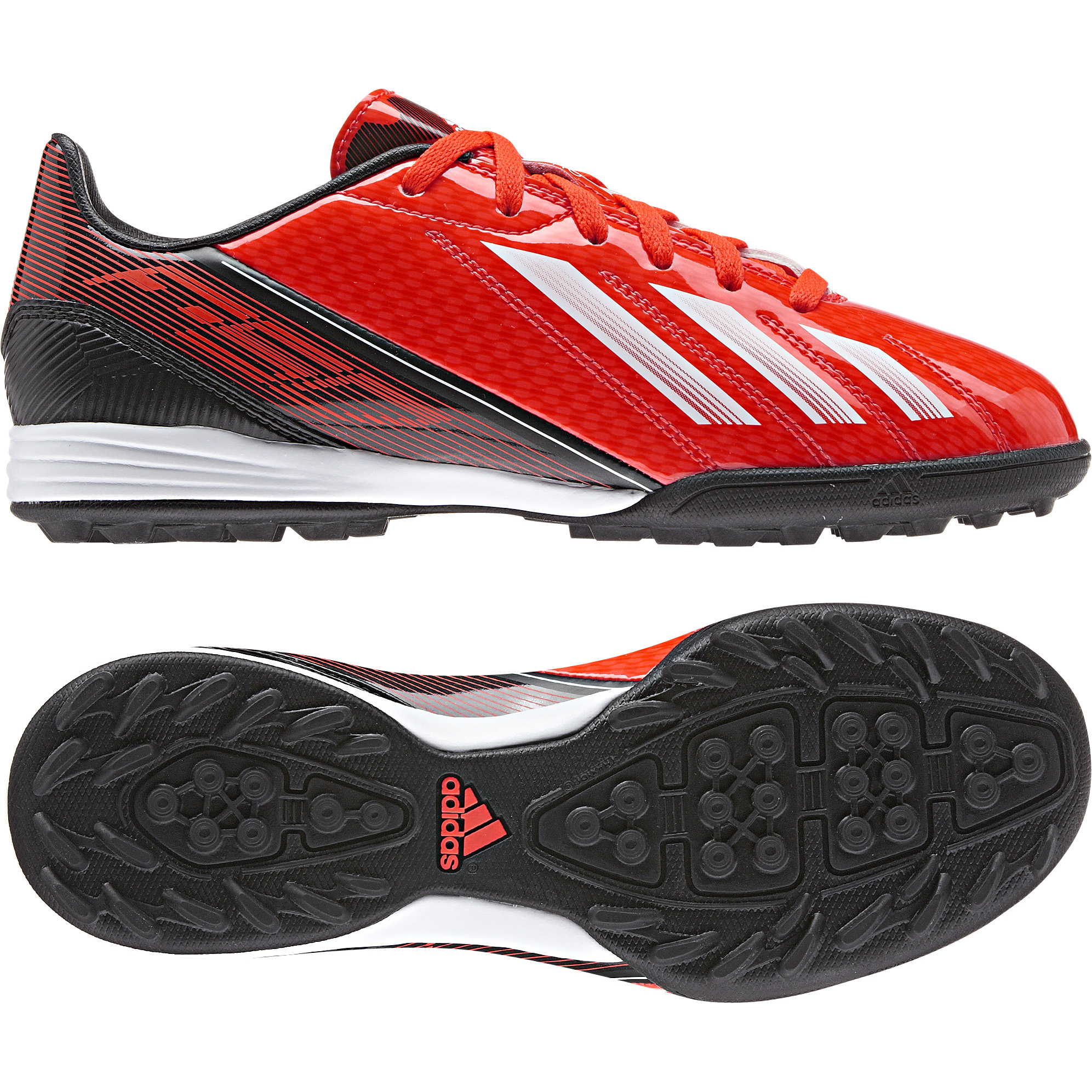 Adidas F10 TRX Astroturf Trainers - Kids Red