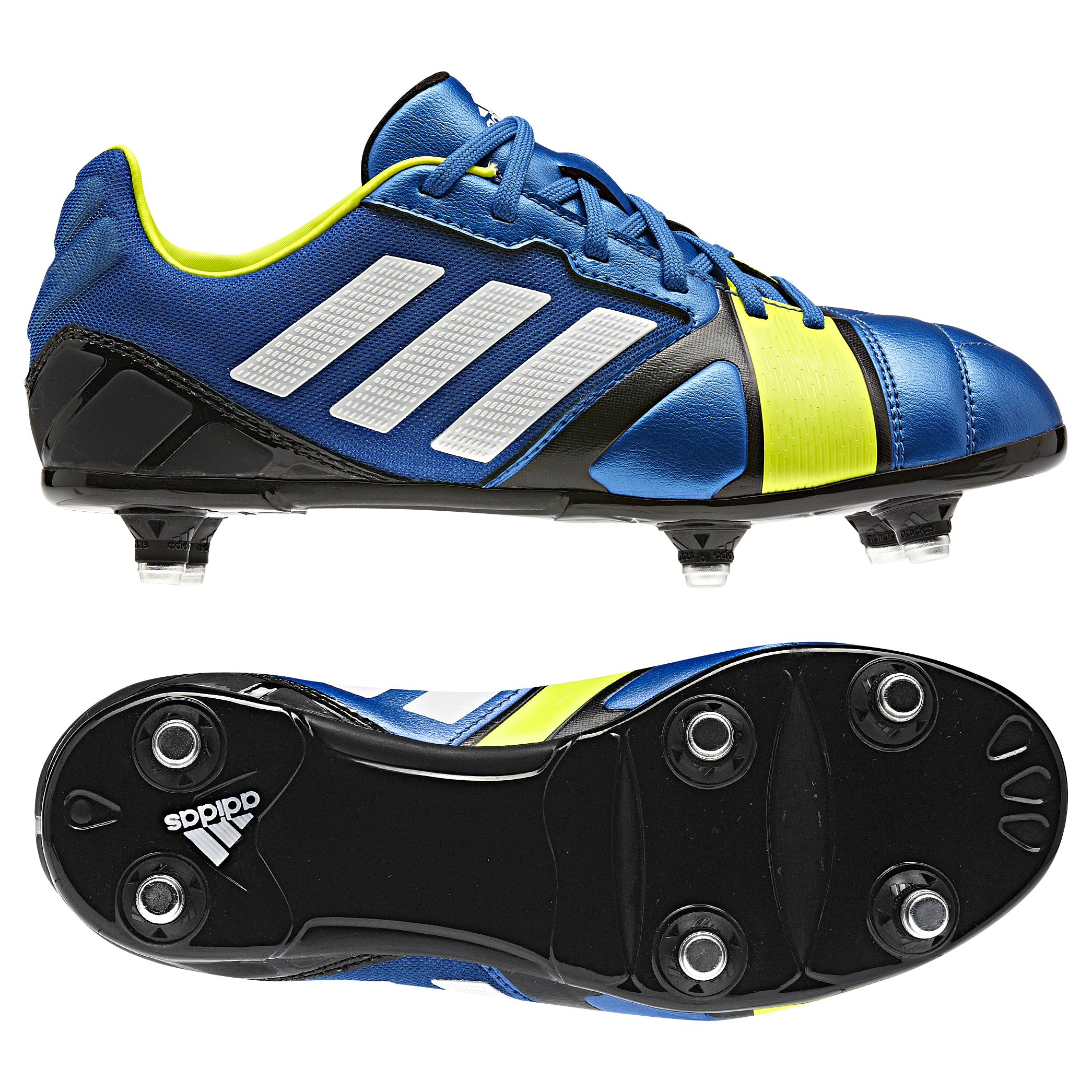Adidas Nitrocharge 2.0 Soft Ground Football Boots - Kids Blue