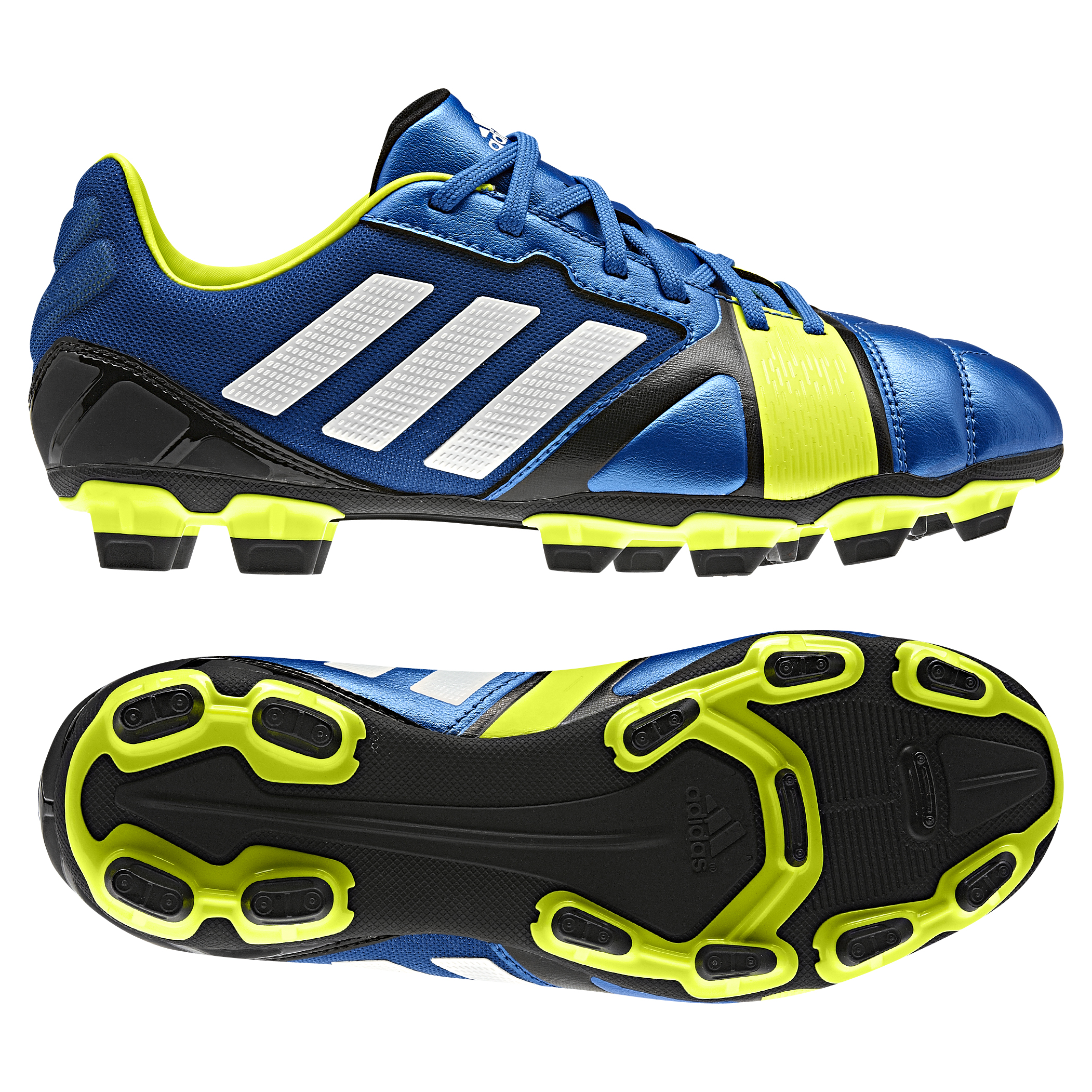 Adidas Nitrocharge 2.0 TRX Firm Ground Football Boots - Kids Blue