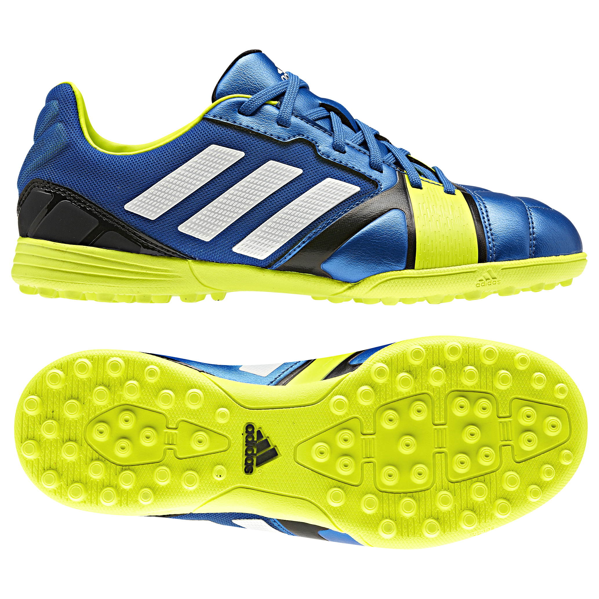 Adidas Nitrocharge 2.0 TRX Astroturf Trainers - Kids Blue