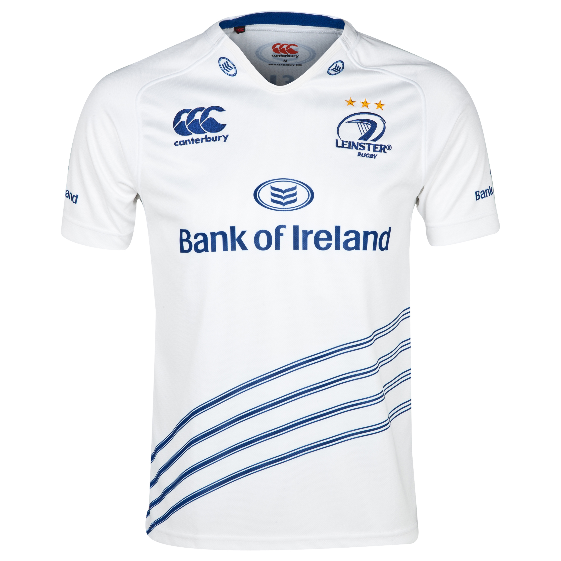 Leinster Alternate Pro Rugby Shirt 2013/14 - White/Leinster Blue White