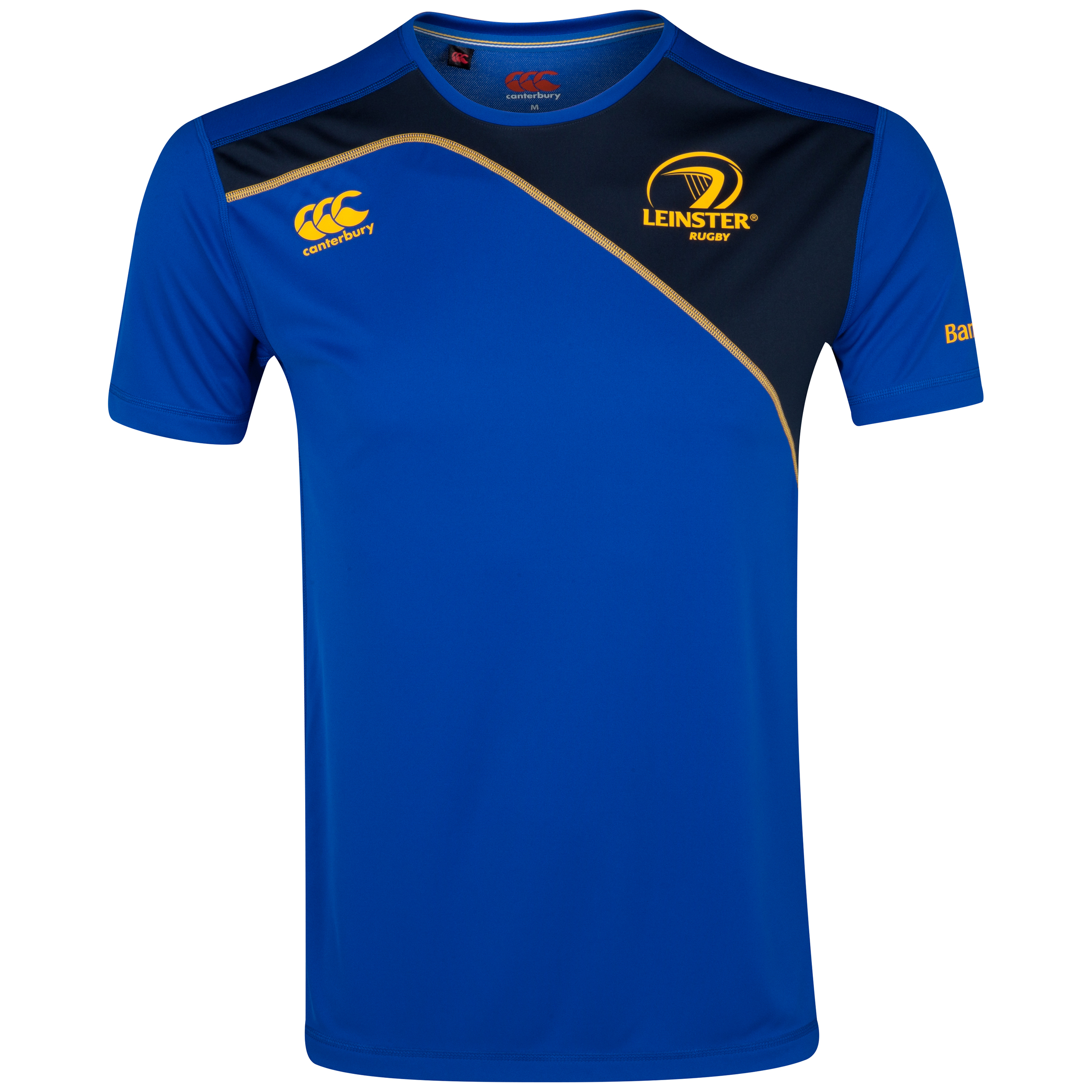 Leinster Rugby Dry Training T-Shirt Blue