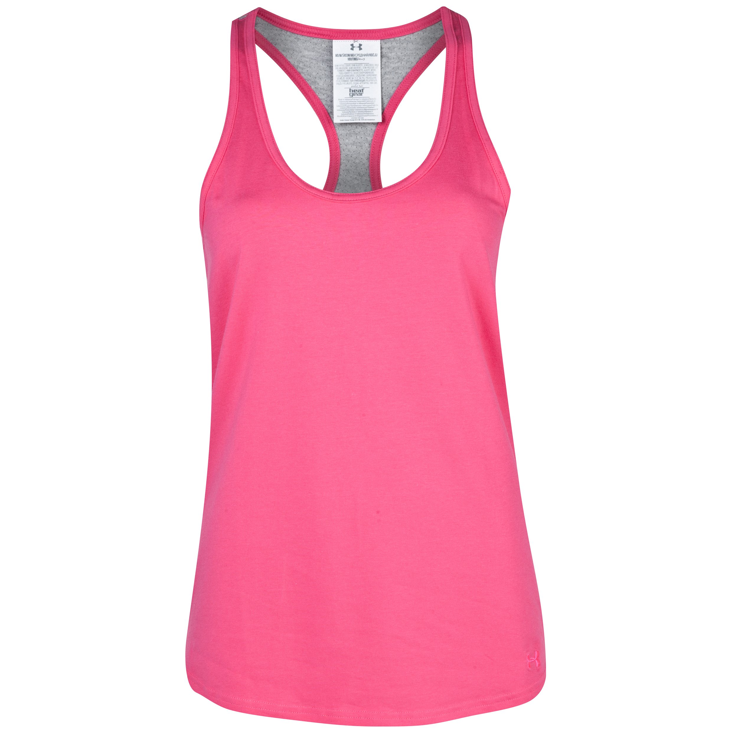 Lifestyle Under Armour Charged Cotton Equip Tank - Pinkadelic - womens Pink