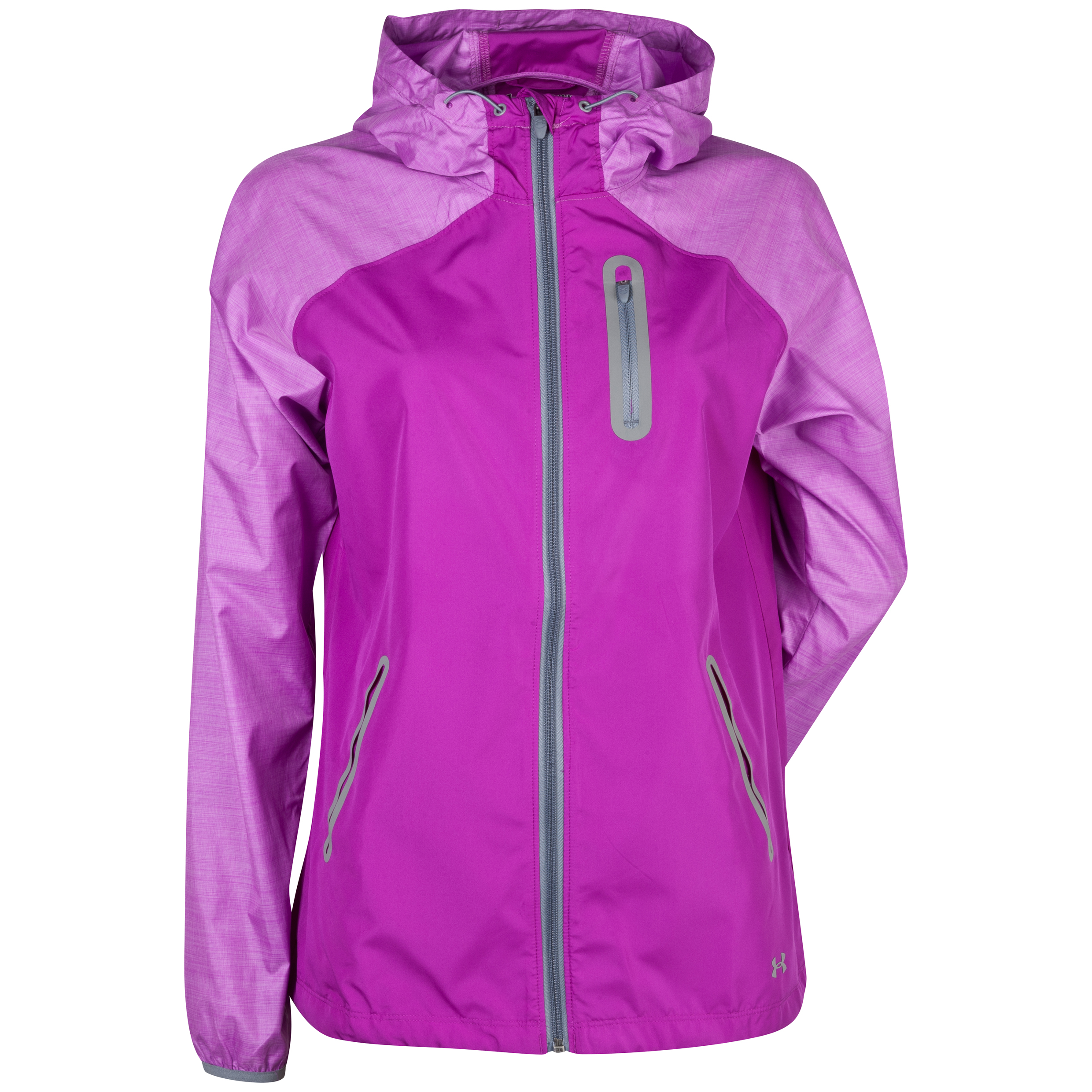 Running Under Armour Qualifier Woven Jacket - Purple - Womens Purple