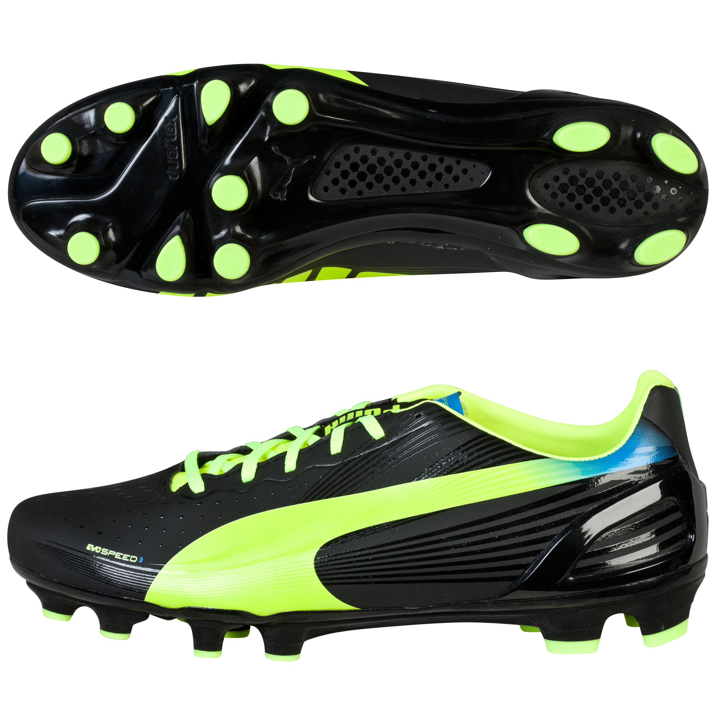 Puma evoSPEED 3.2 Firm Ground Football Boots Black
