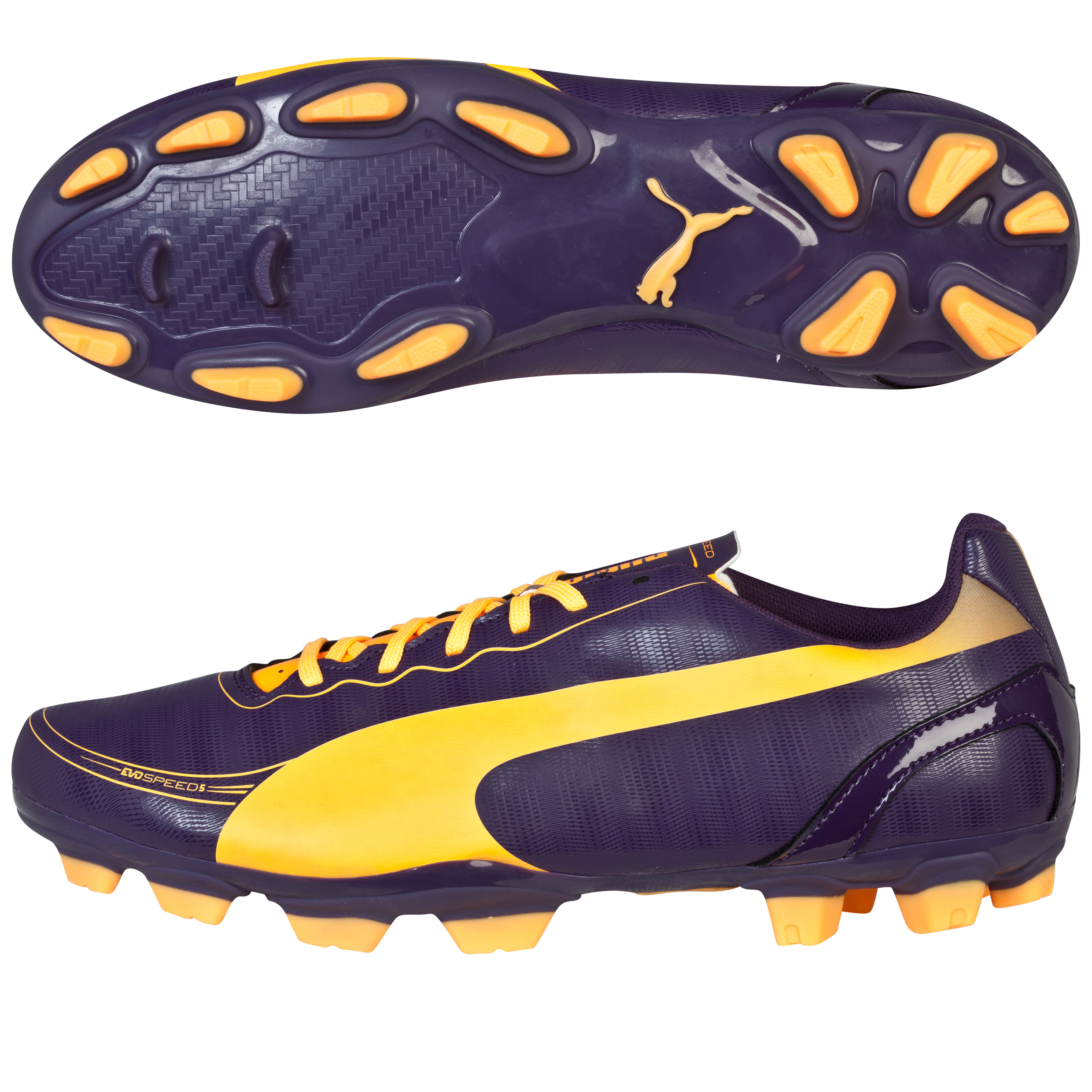 Puma evoSPEED 5.2 Firm Ground Football Boots Black