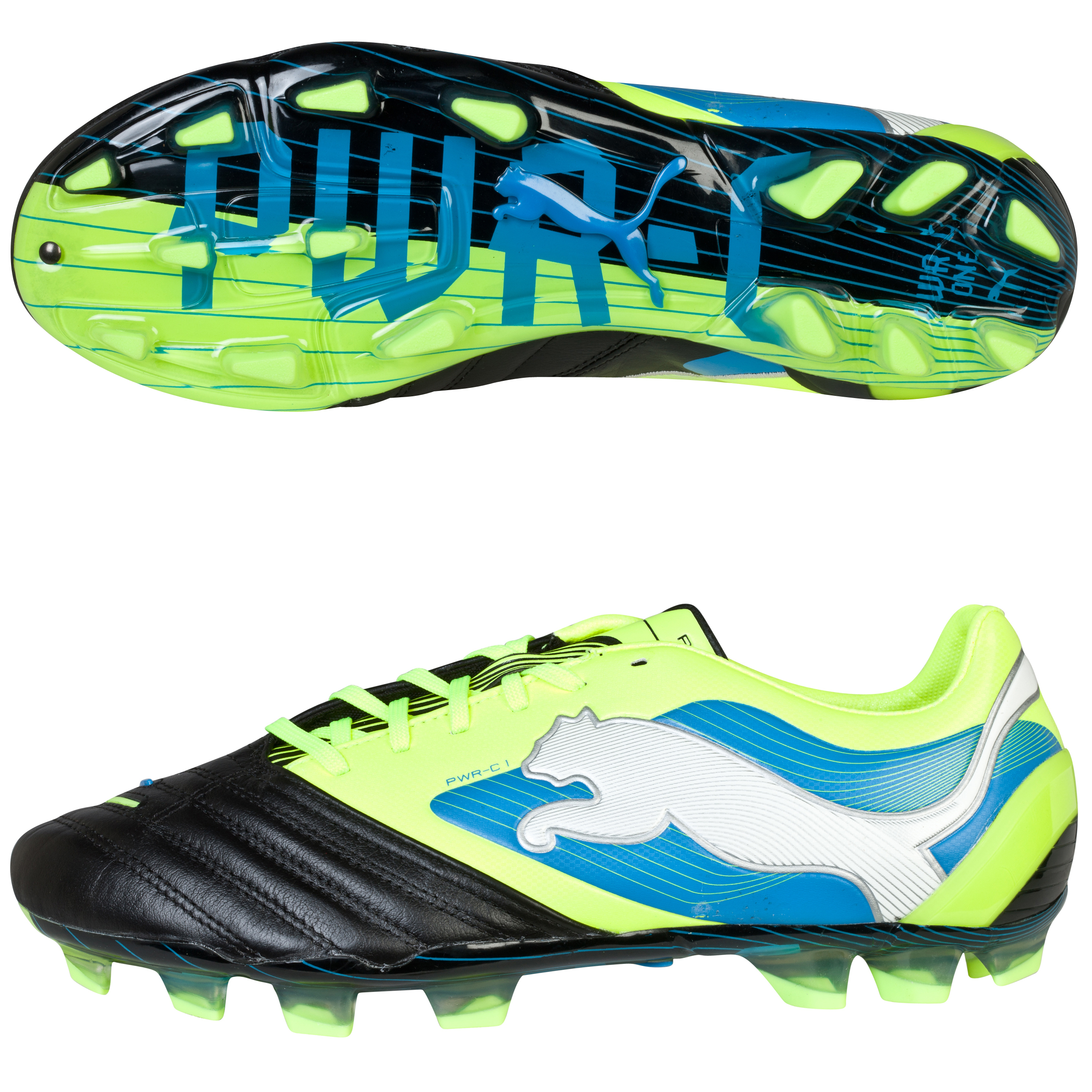 Puma PowerCat 1 Firm Ground Black