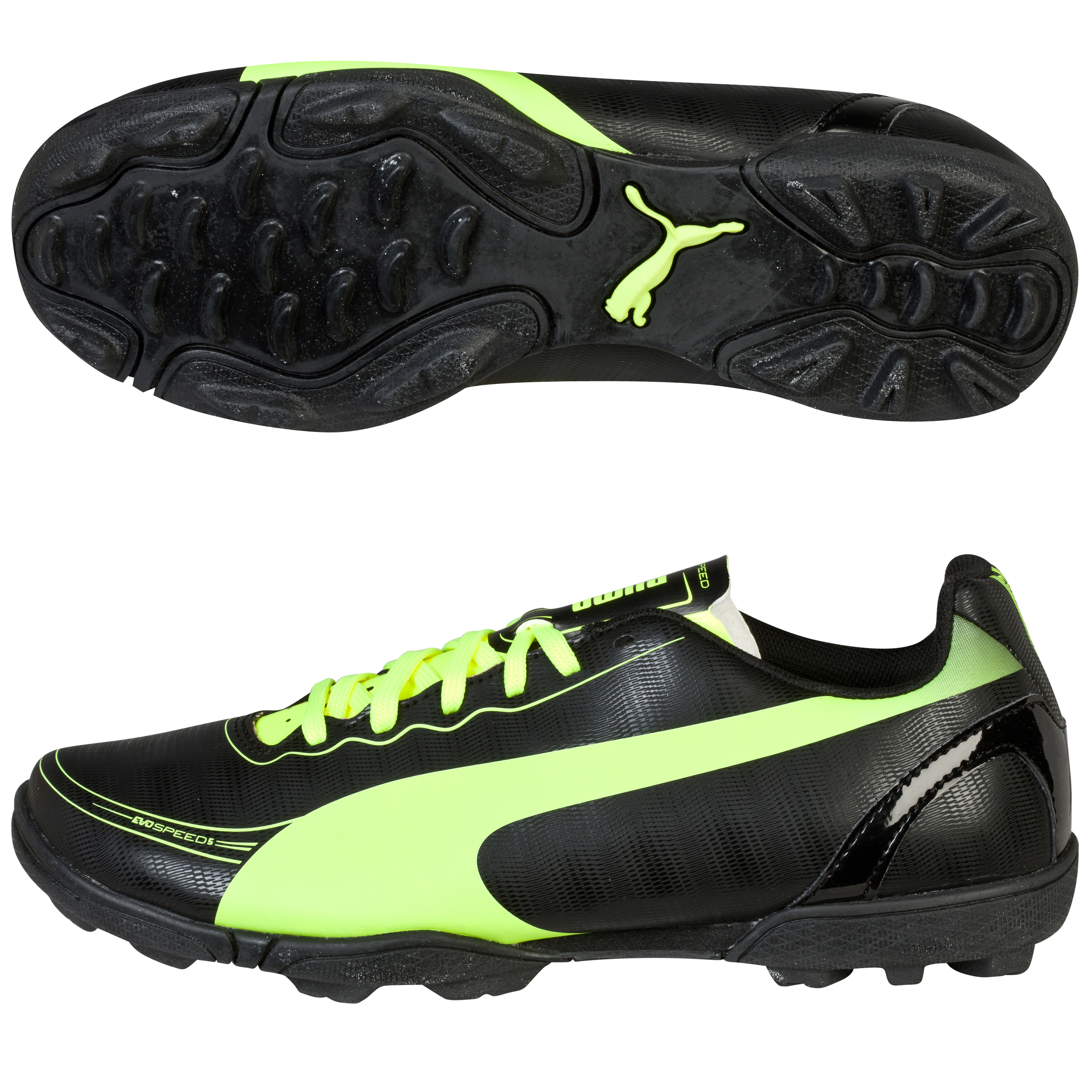 Puma evoSPEED 5.2 Astroturf Trainers Black