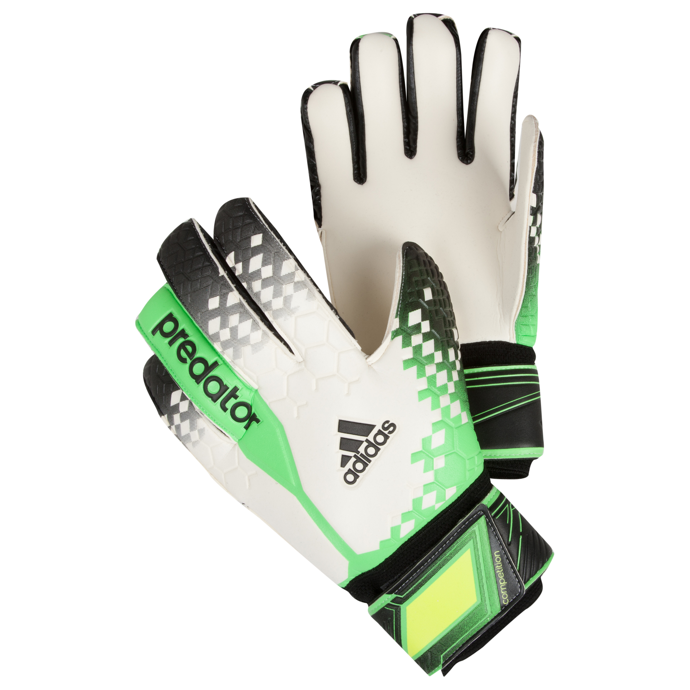 Adidas Predator Comp Goalkeeper Gloves White