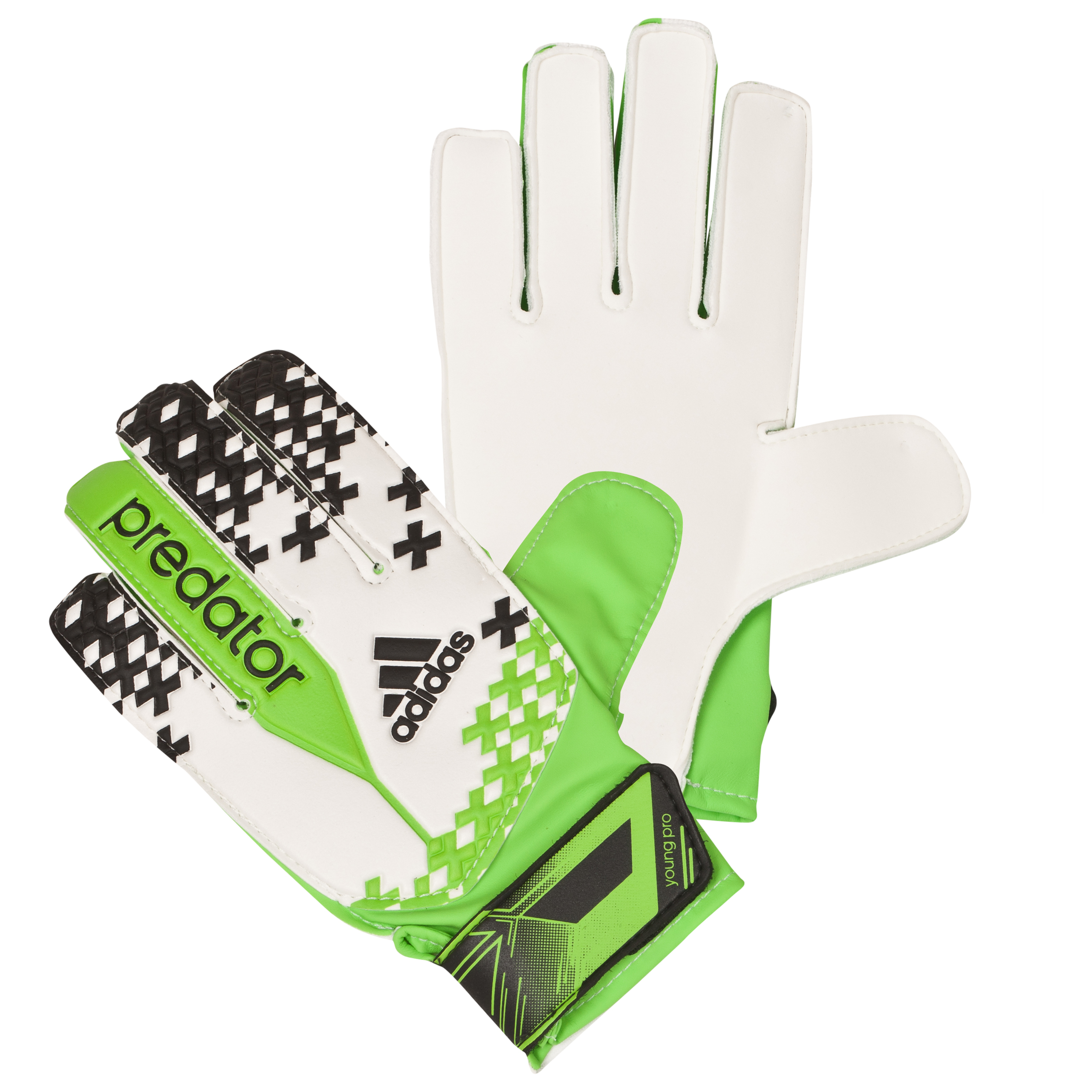 Adidas Predator Young Pro Goalkeeper Gloves White
