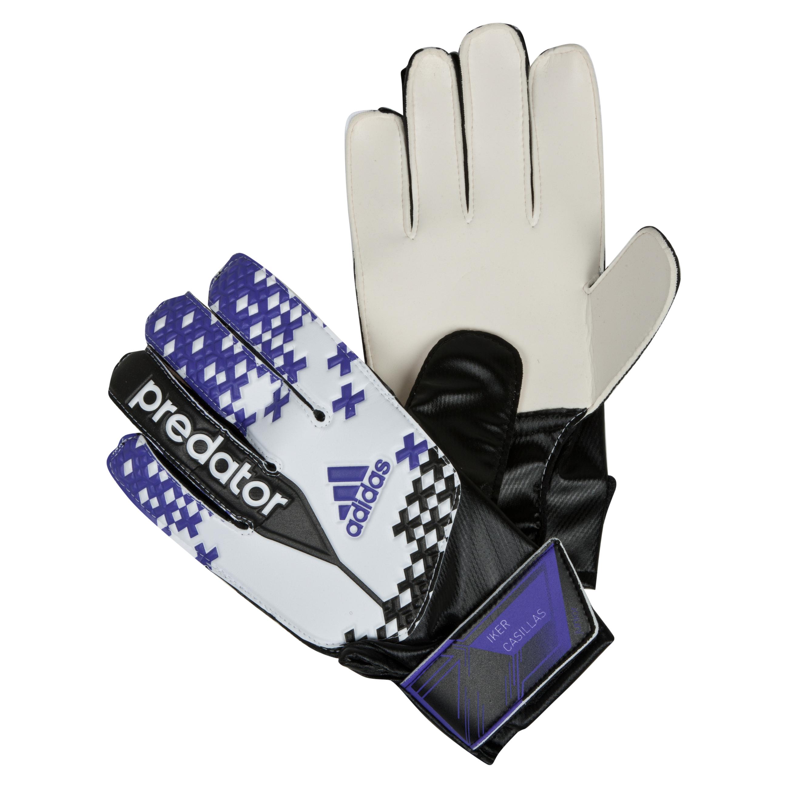 Adidas Predator Iker Casillas Goalkeeper Gloves White