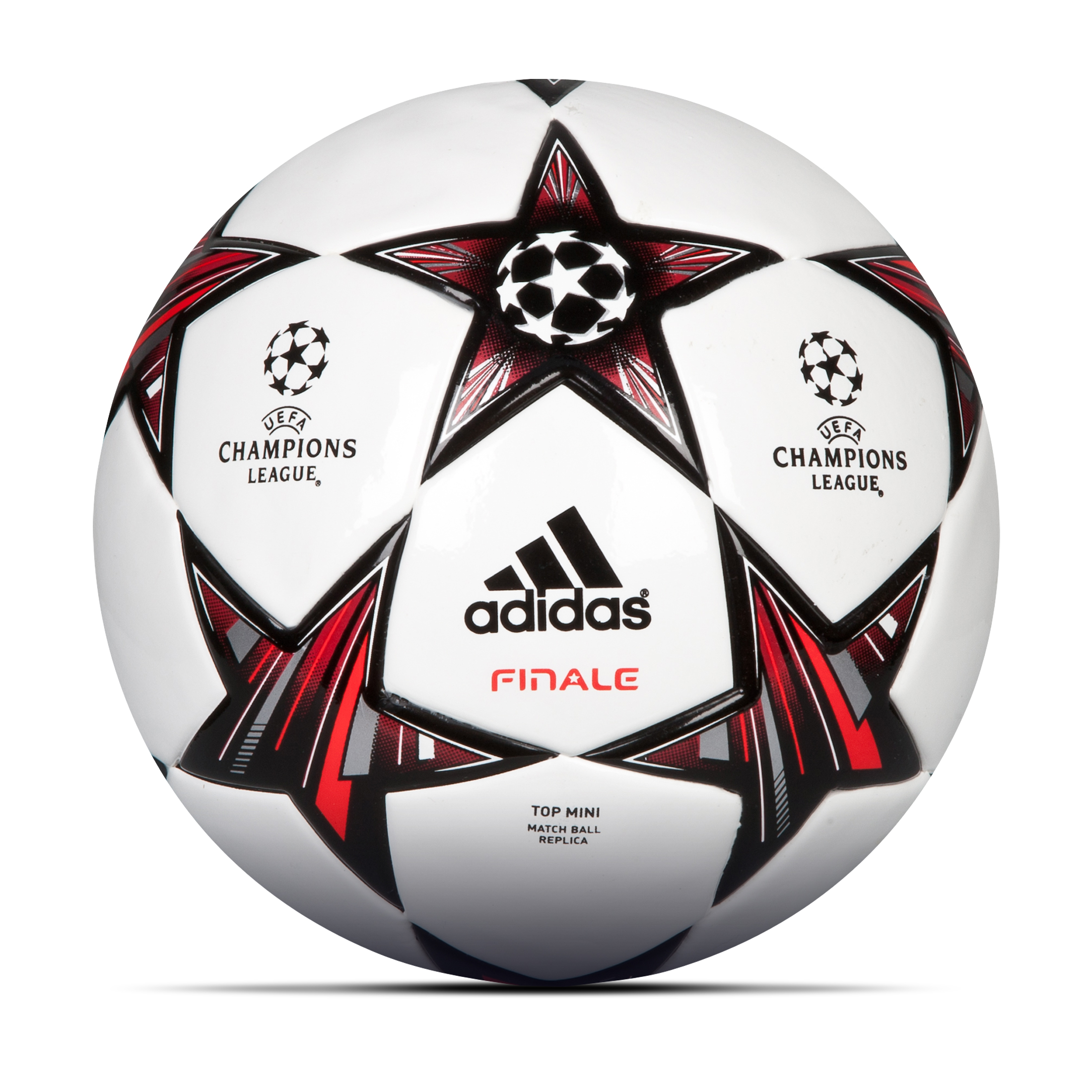 Adidas UEFA Champions League Finale 13 Top Mini Football - Size 1 White