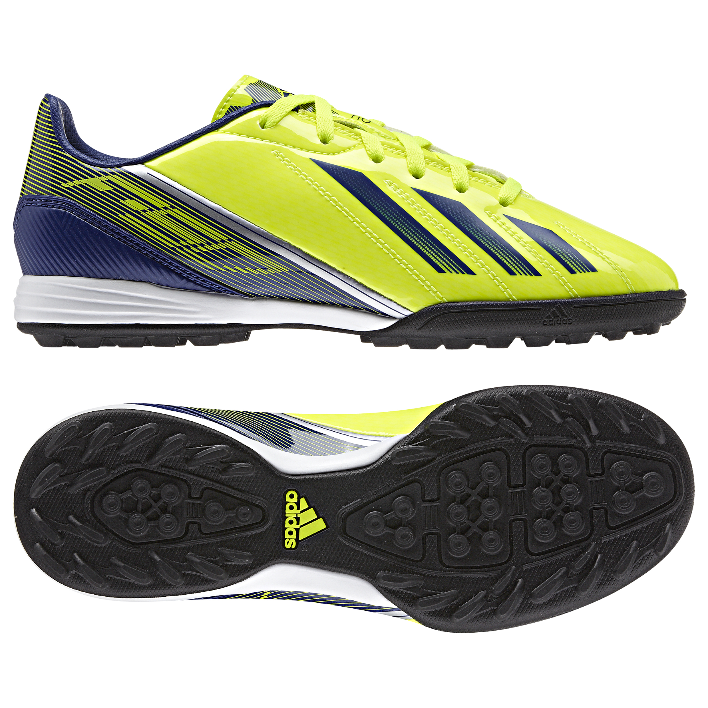 Adidas F10 TRX Astroturf Trainers Yellow