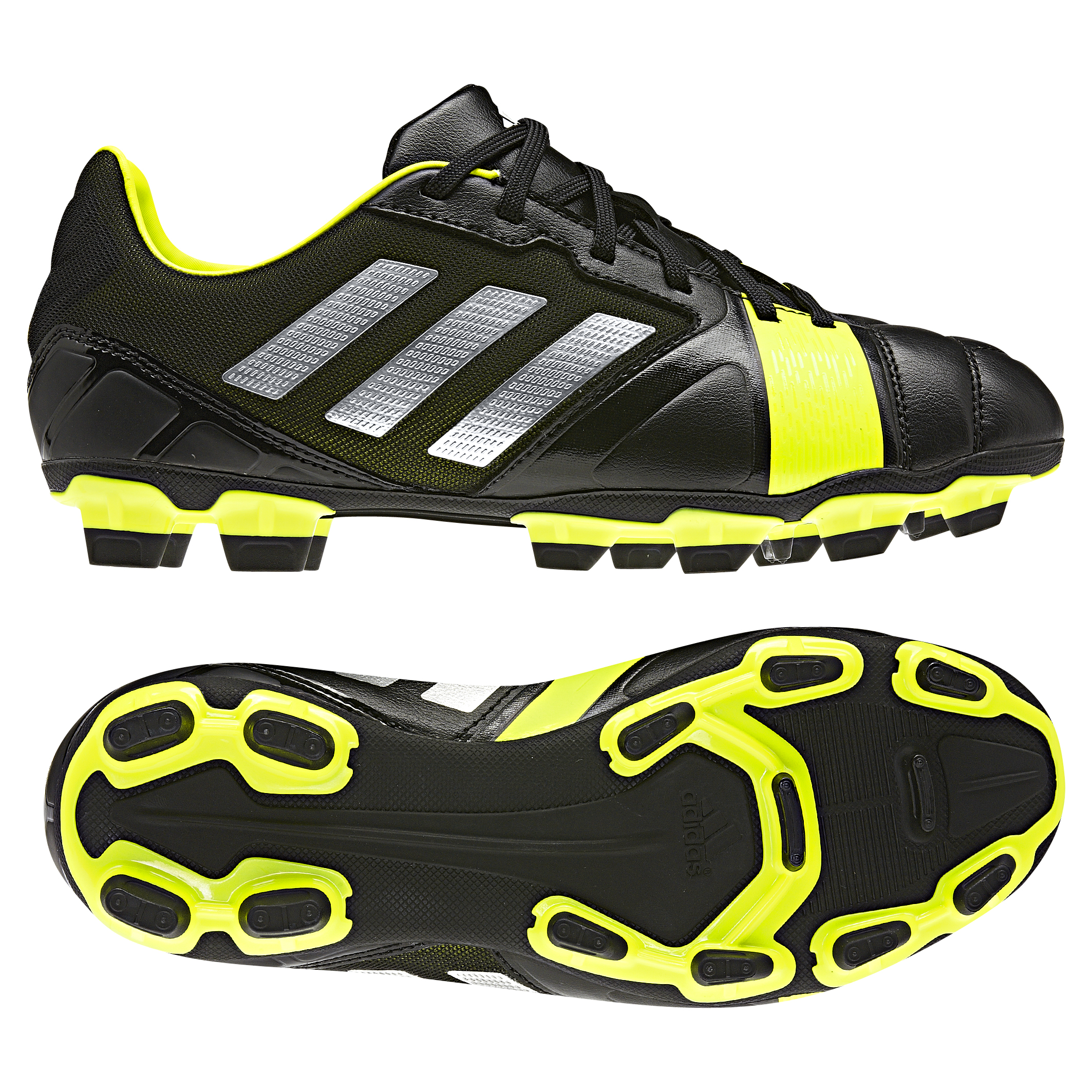 Adidas Nitrocharge 2.0 TRX Firm Ground Football Boots - Kids Black