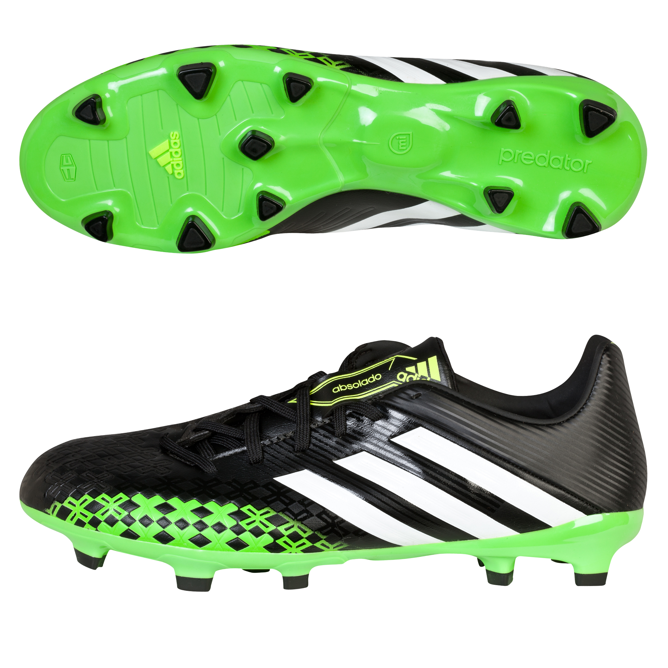 Adidas Predator Absolado LZ TRX Firm Ground Football Boots Black