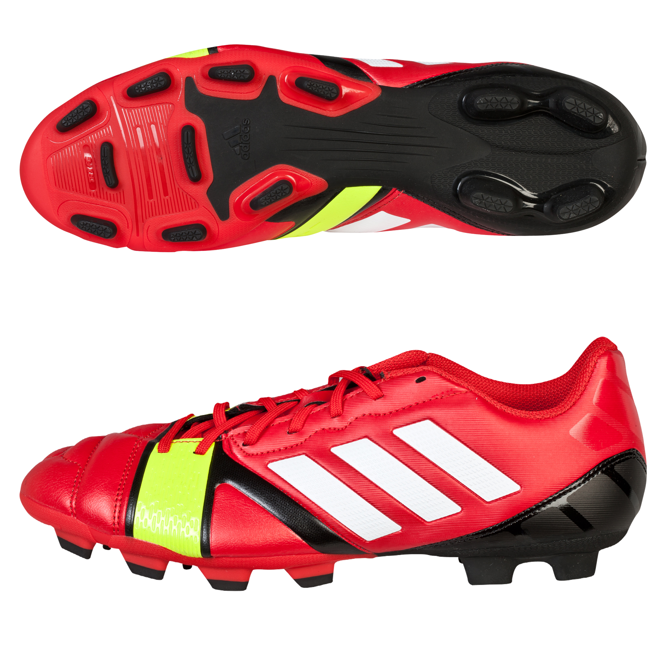 Adidas Nitrocharge 3.0 TRX Firm Ground Football Boots Red