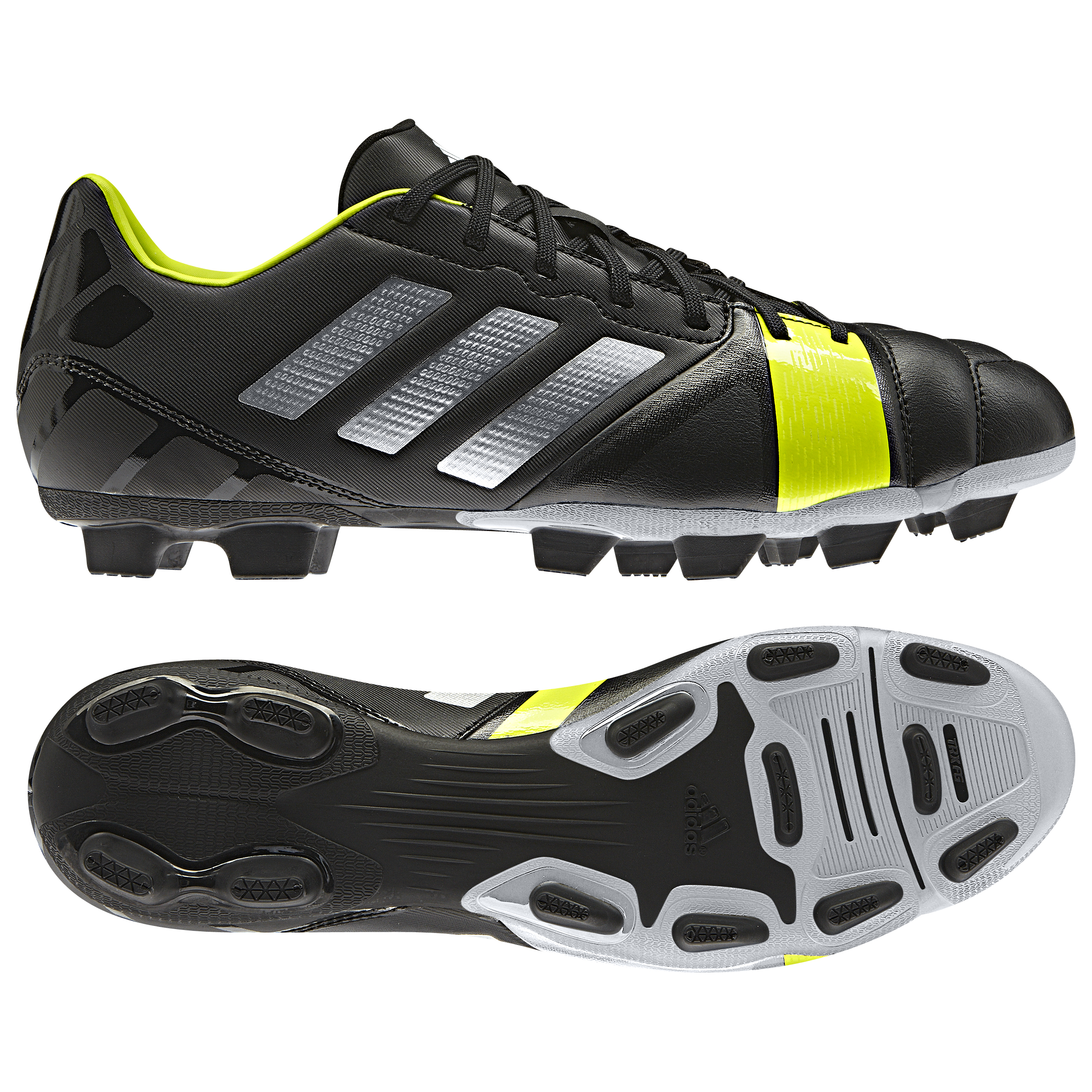 Adidas Nitrocharge 3.0 TRX Firm Ground Football Boots Black