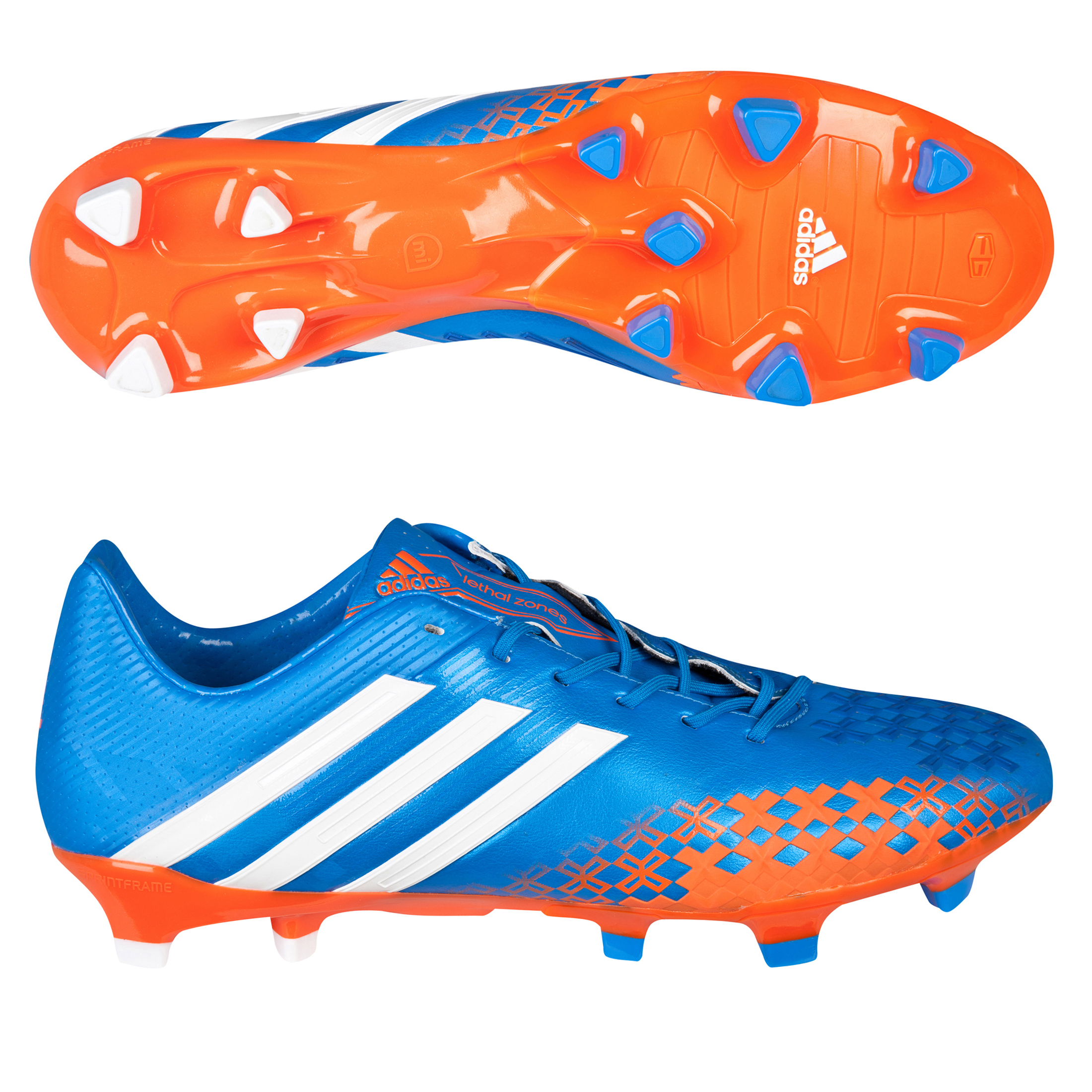 Adidas Predator LZ TRX Firm Ground Football Boots Blue