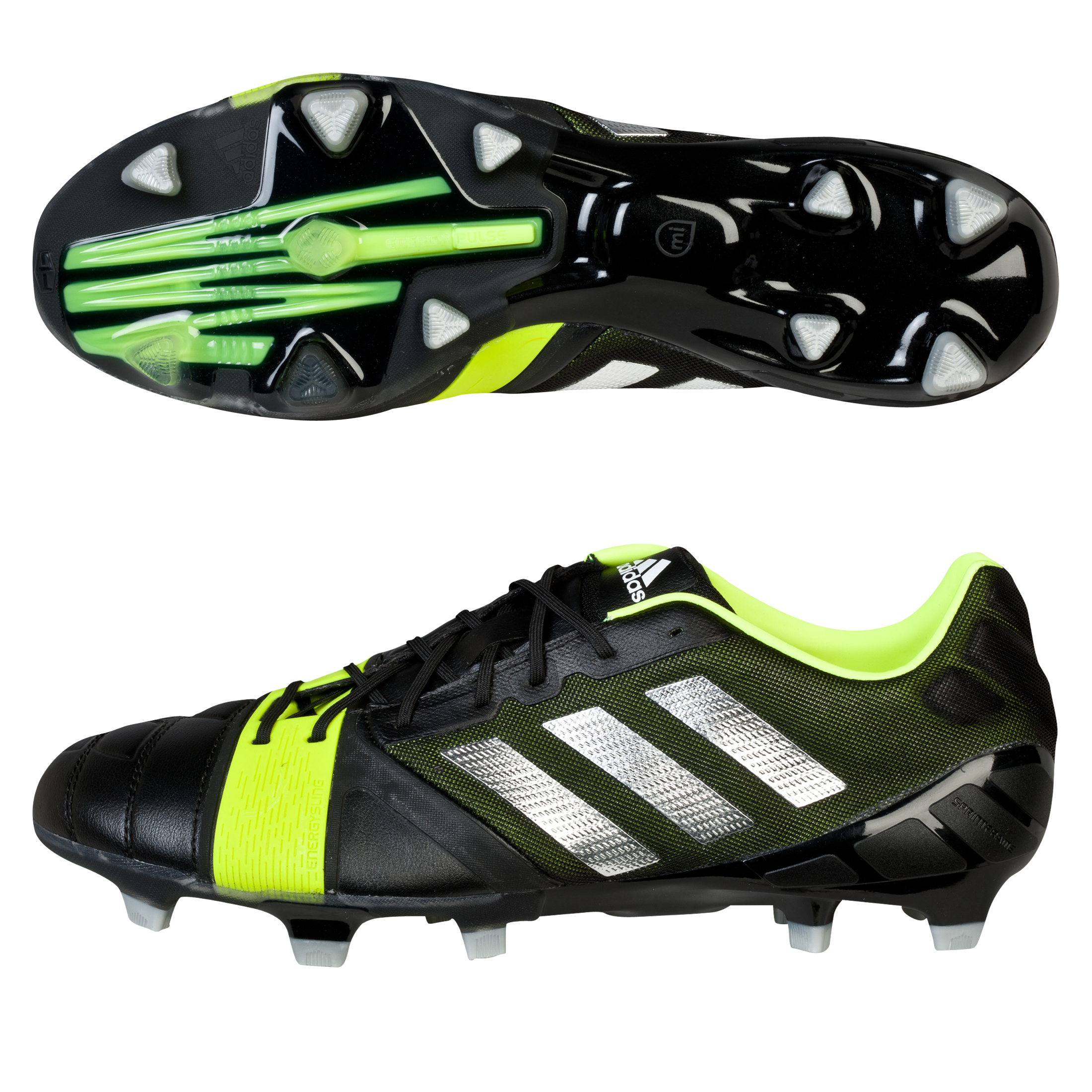 Adidas Nitrocharge 1.0 TRX Firm Ground Football Boots Black