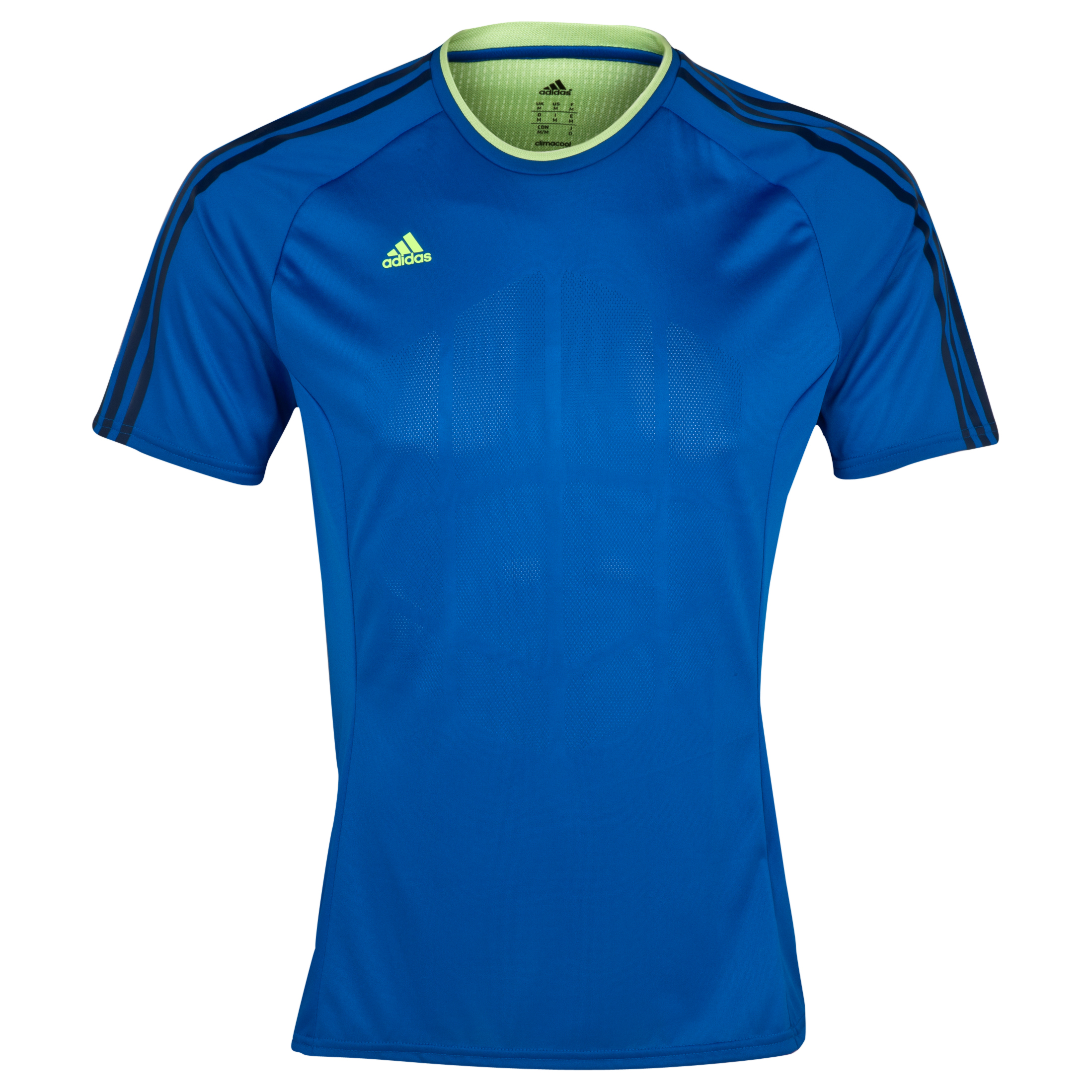 Adidas Nitrocharge Climacool Training T-shirt Blue