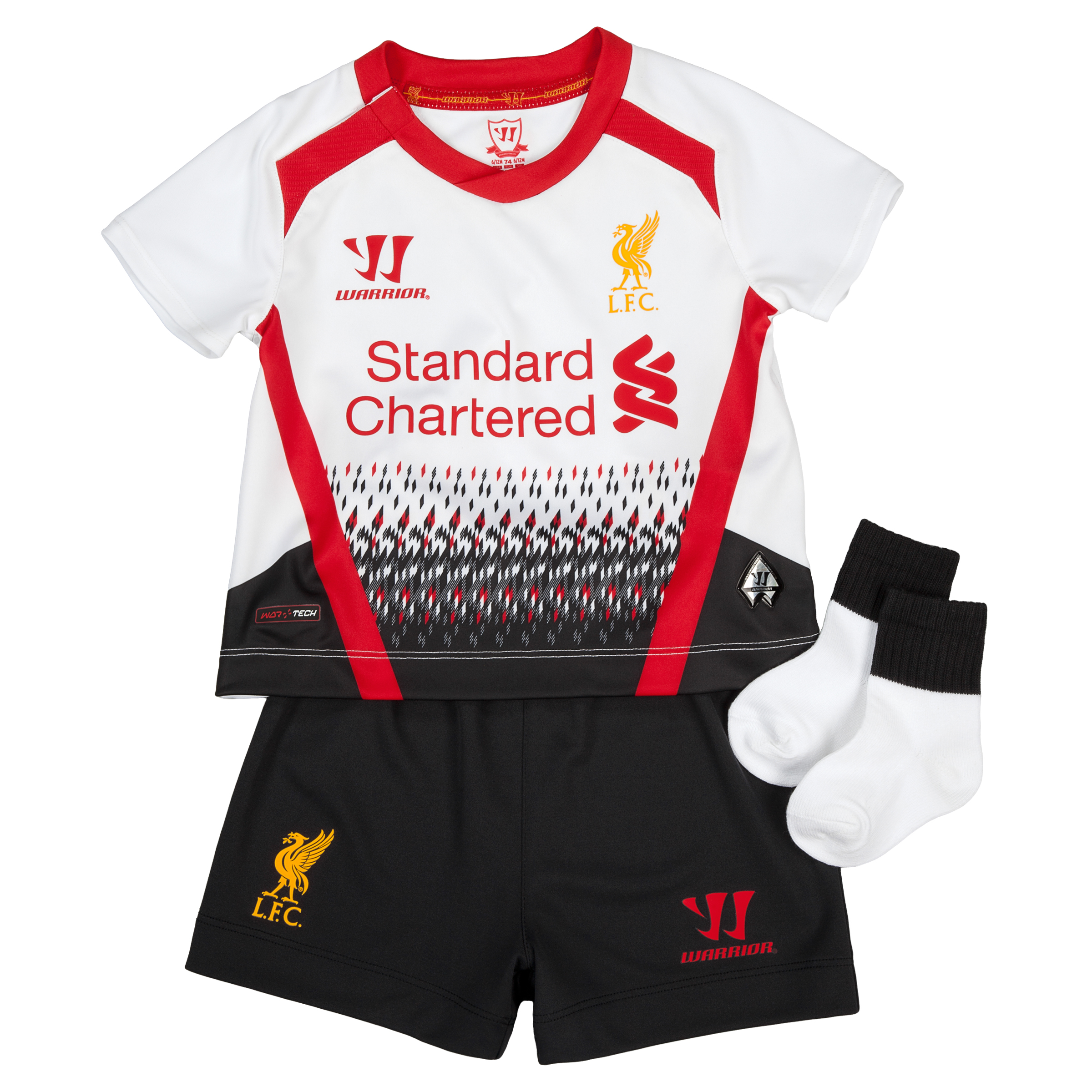 Liverpool Away Baby Kit 2013/14