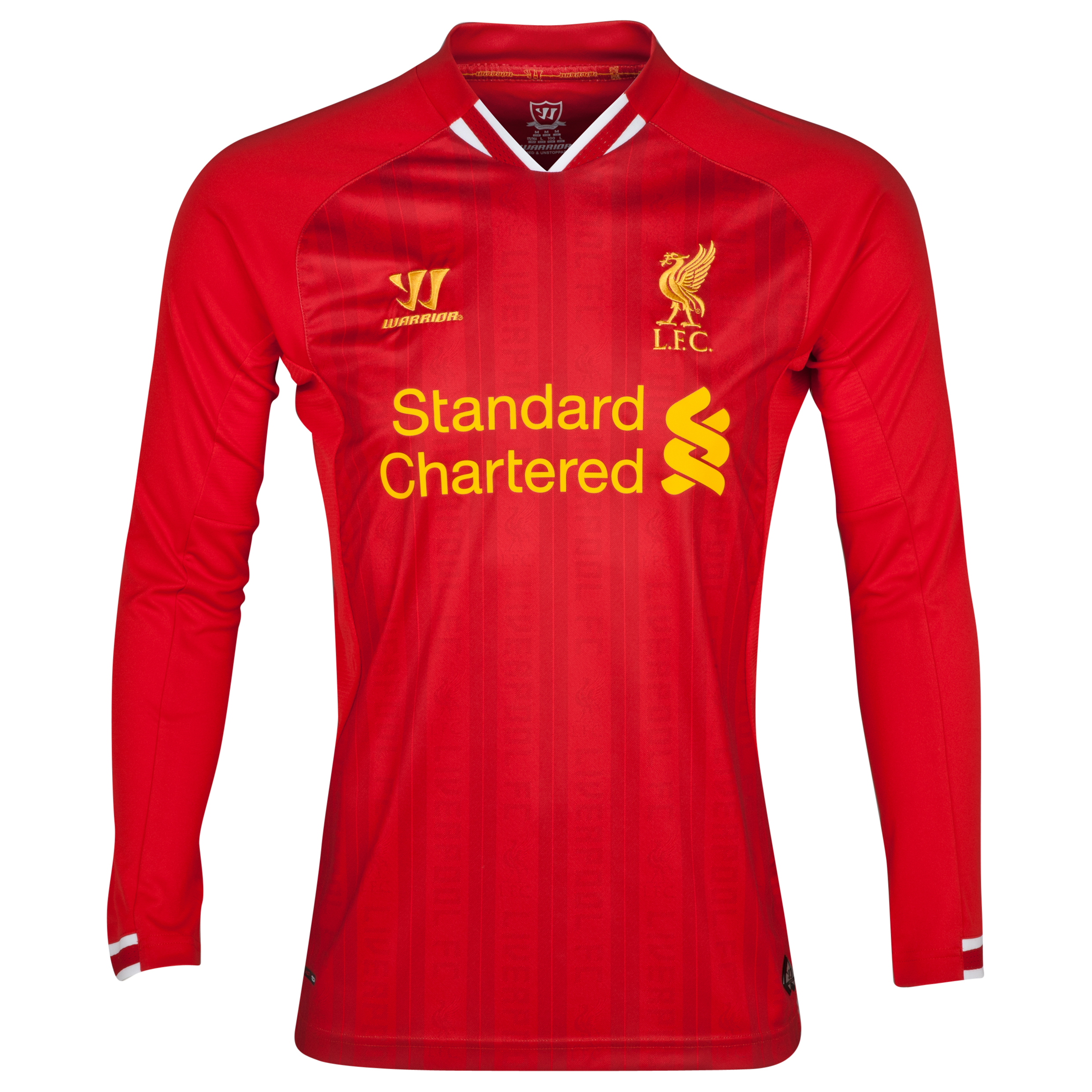 Buy Liverpool Home Kit 2013/14 Long Sleeve Kids
