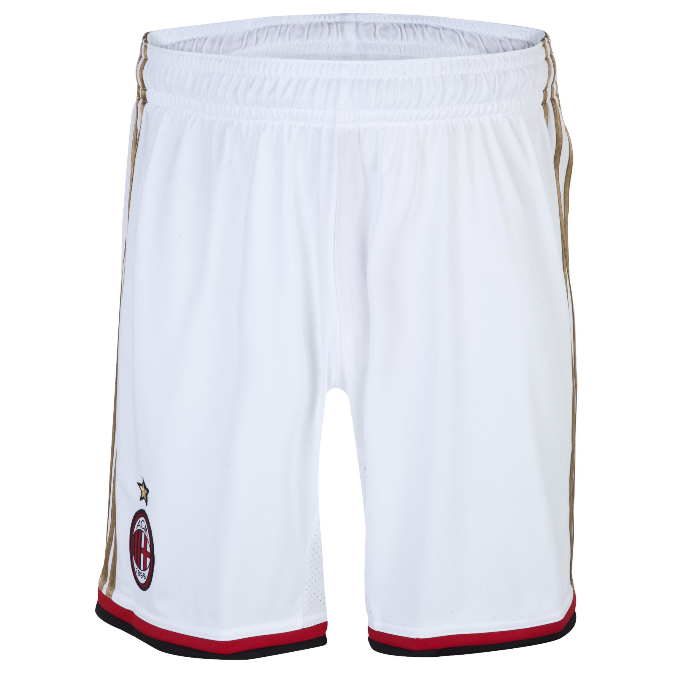 AC Milan Home/Away Shorts 2013/14