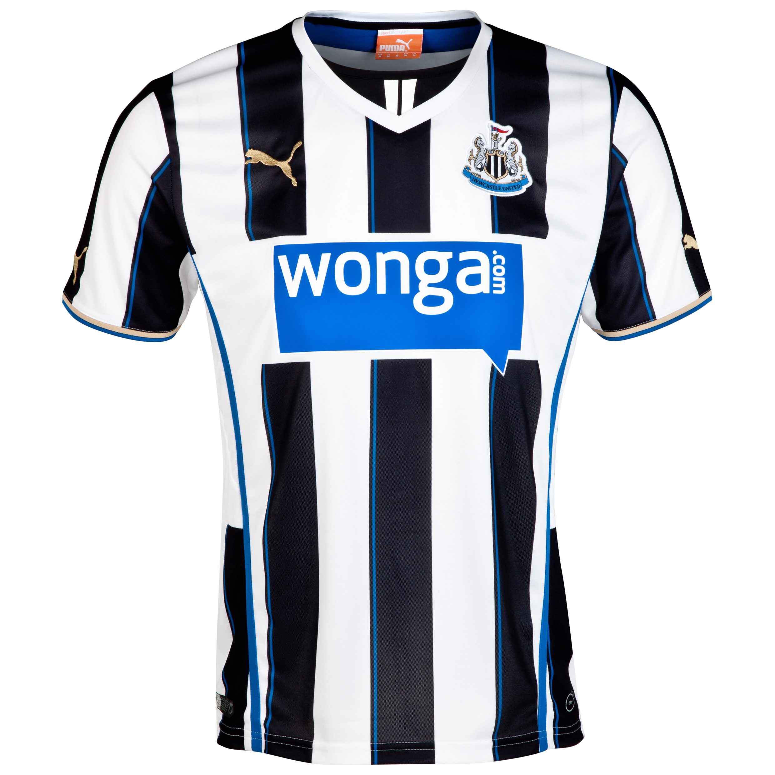 Newcastle United Home Shirt 2013/14